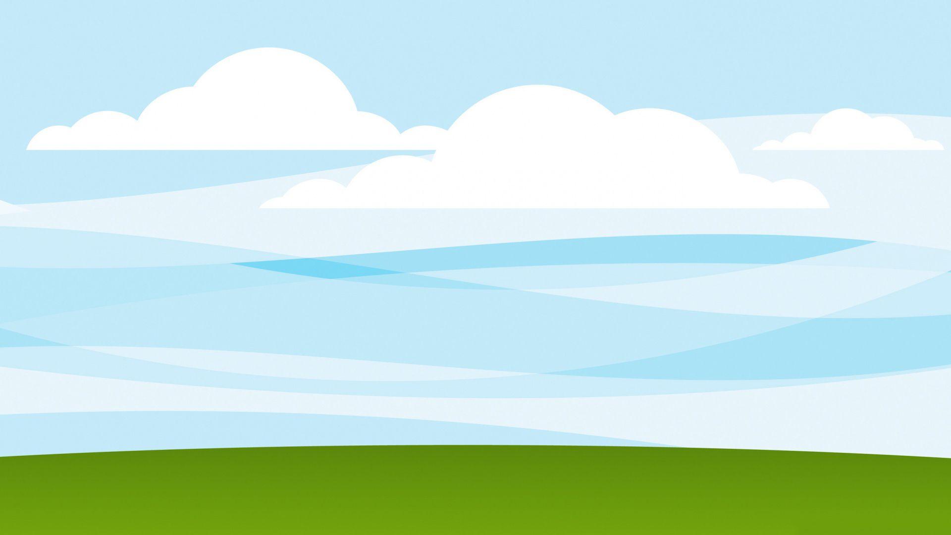 Sky Vector free desktop background