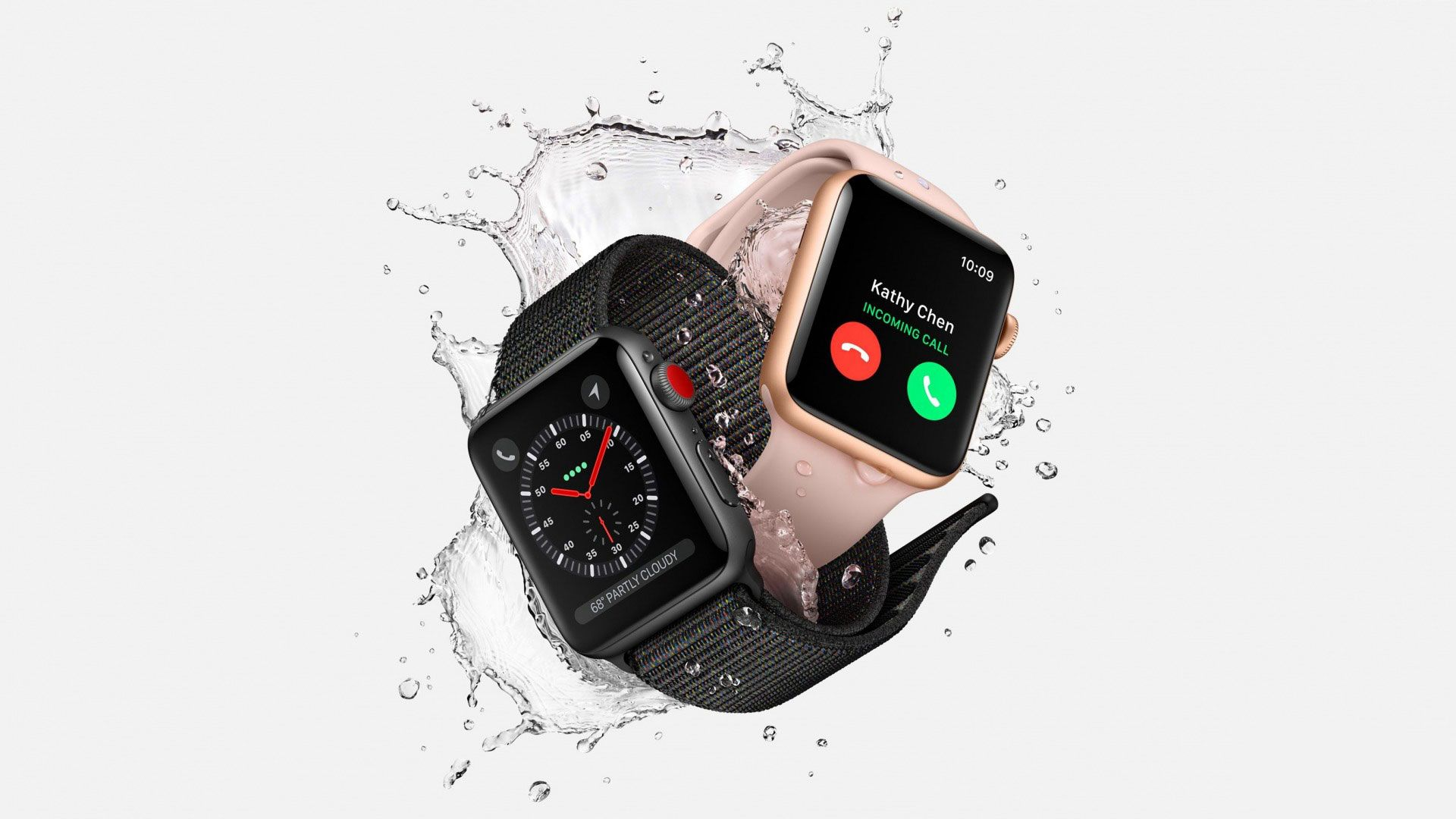 Smartwatch laptop background
