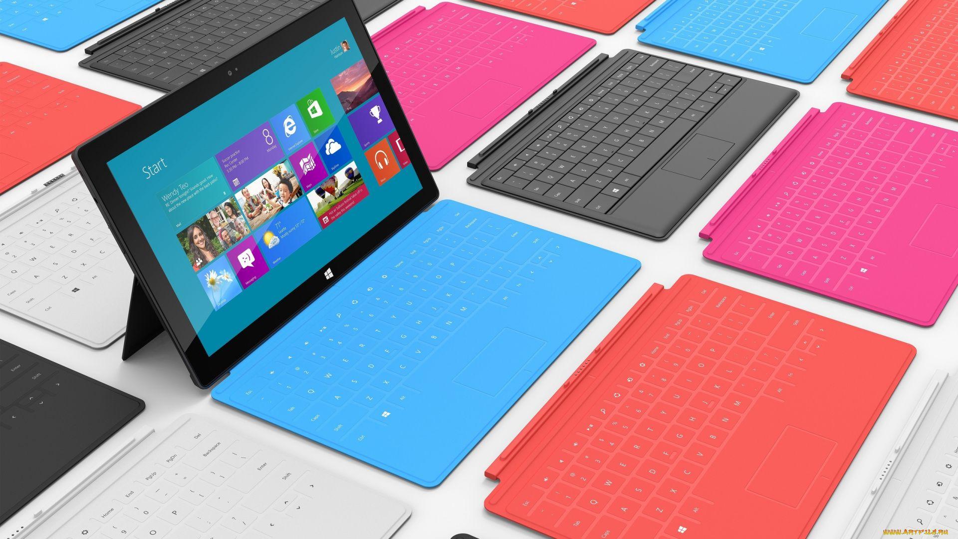 Surface Pro background