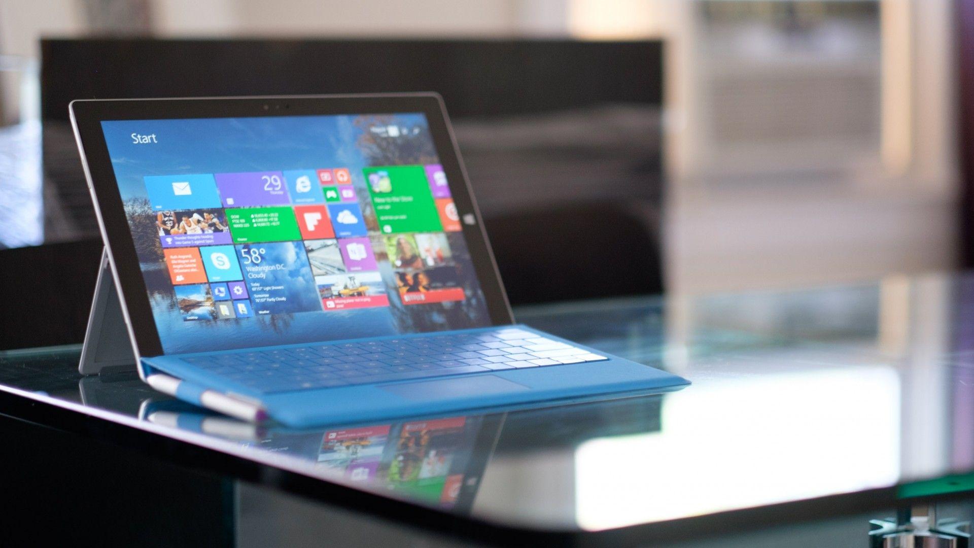 Surface Pro laptop background