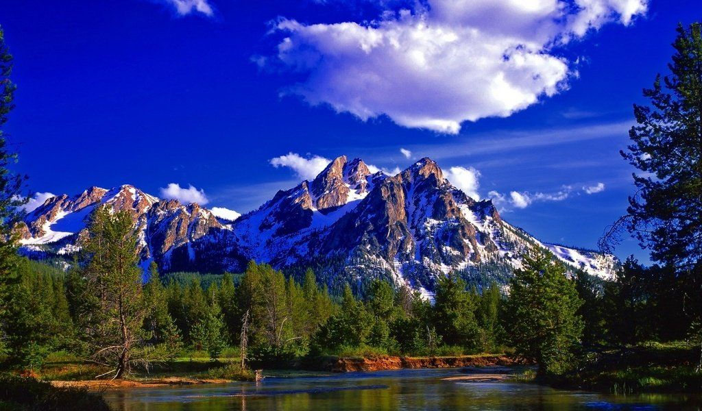 The Wallpapers Of Nature Mountain