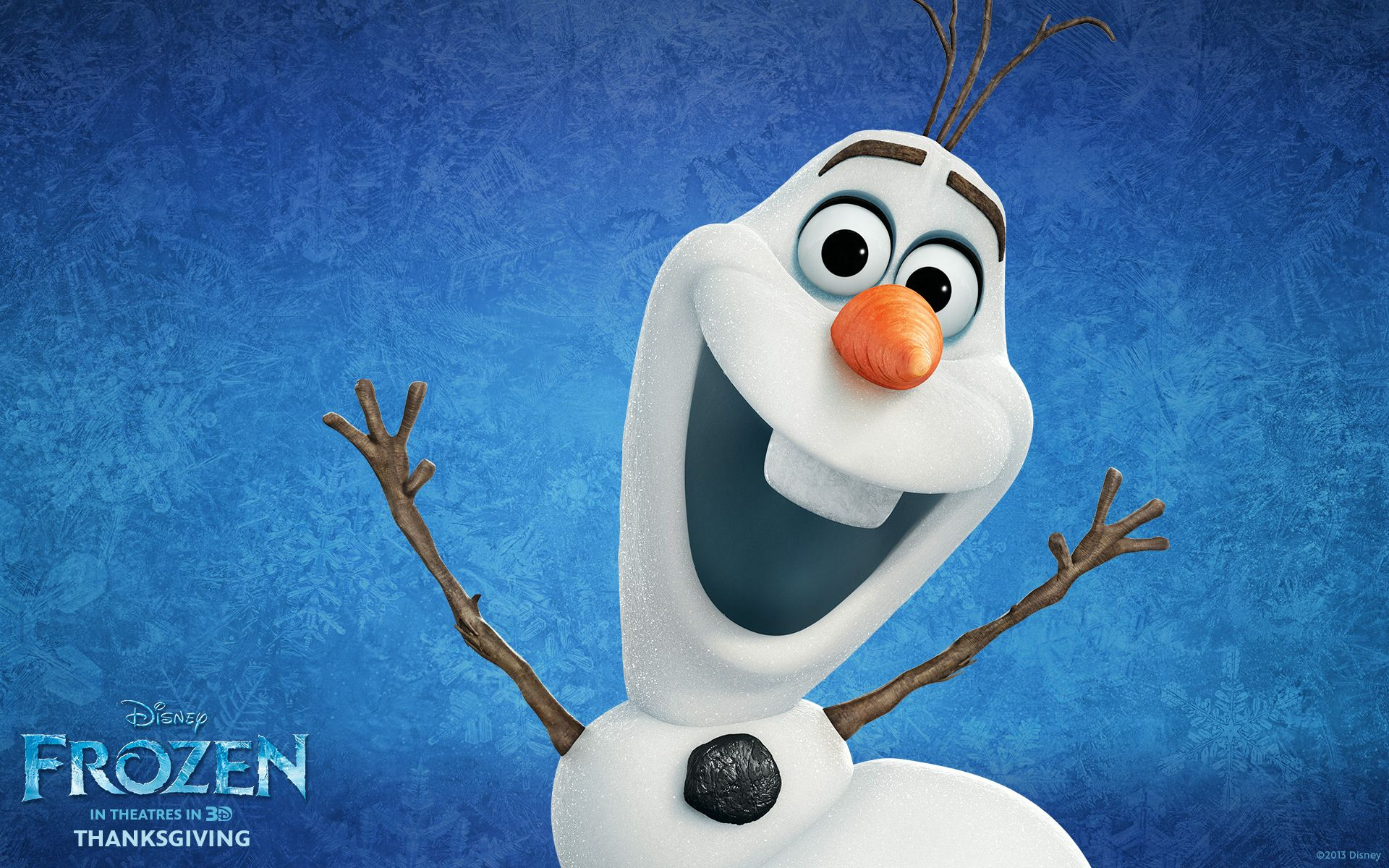 The Snowman From The Movie Frozen Pictures