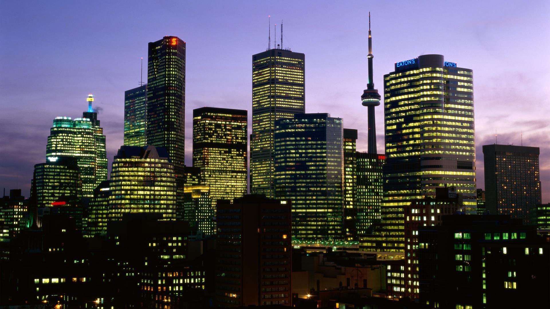 Toronto background wallpaper
