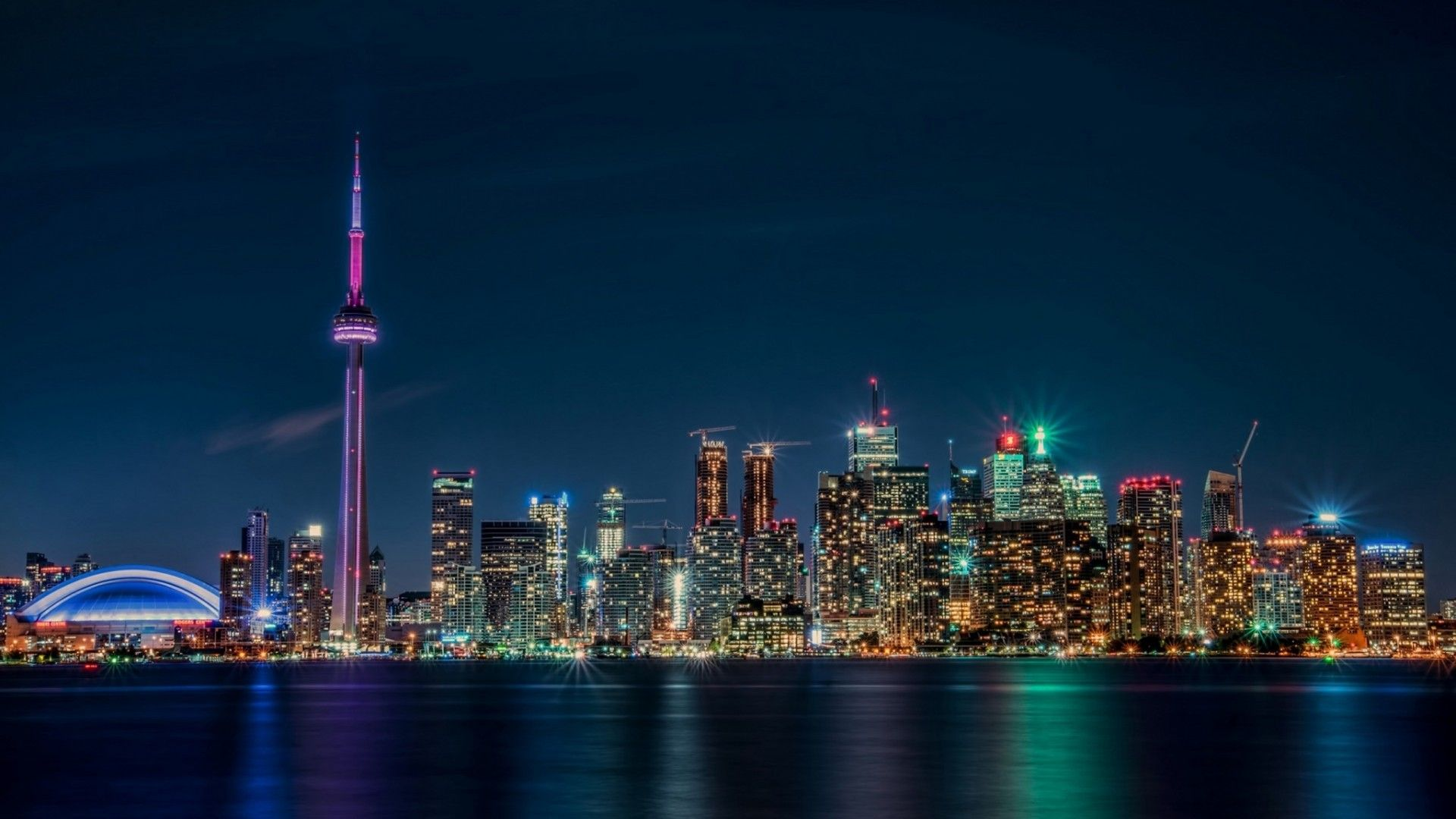 Toronto laptop background