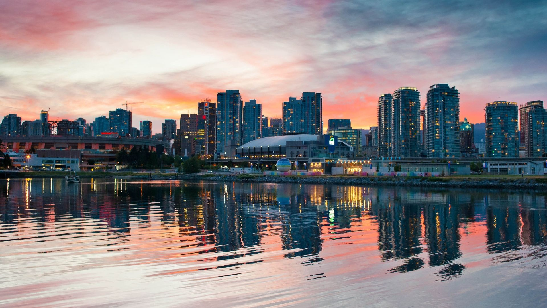 Vancouver computer background