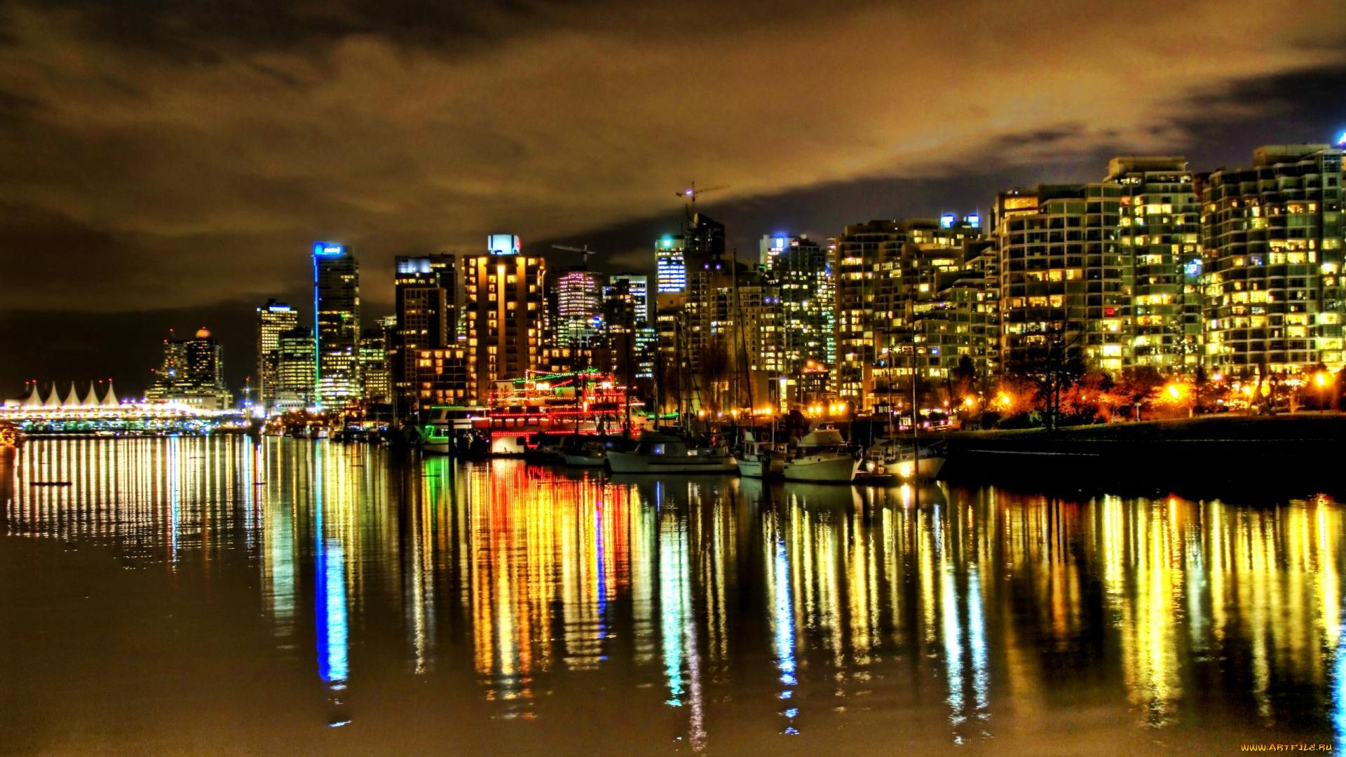Vancouver 1080p background