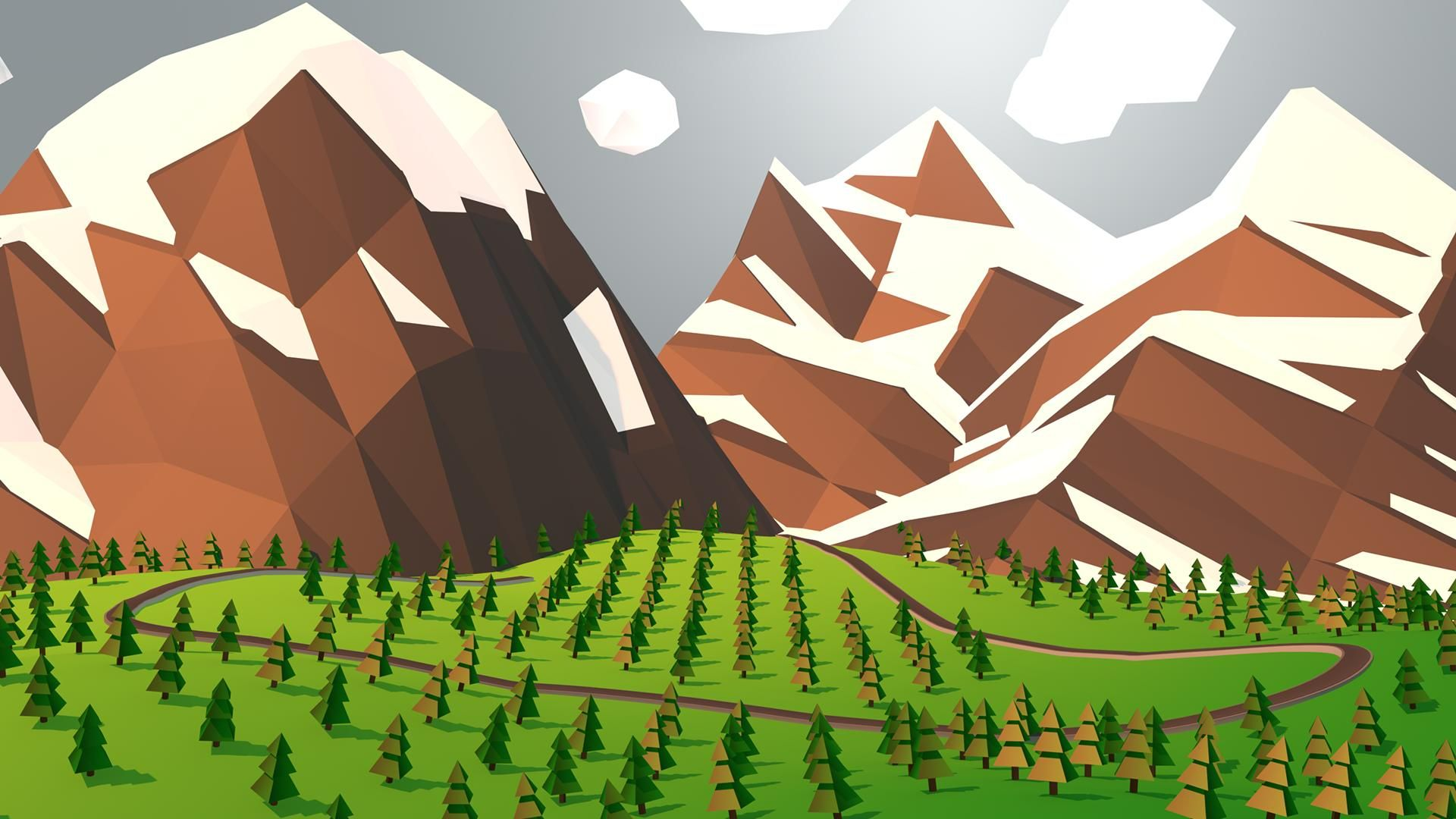 Vector Art 1080p background
