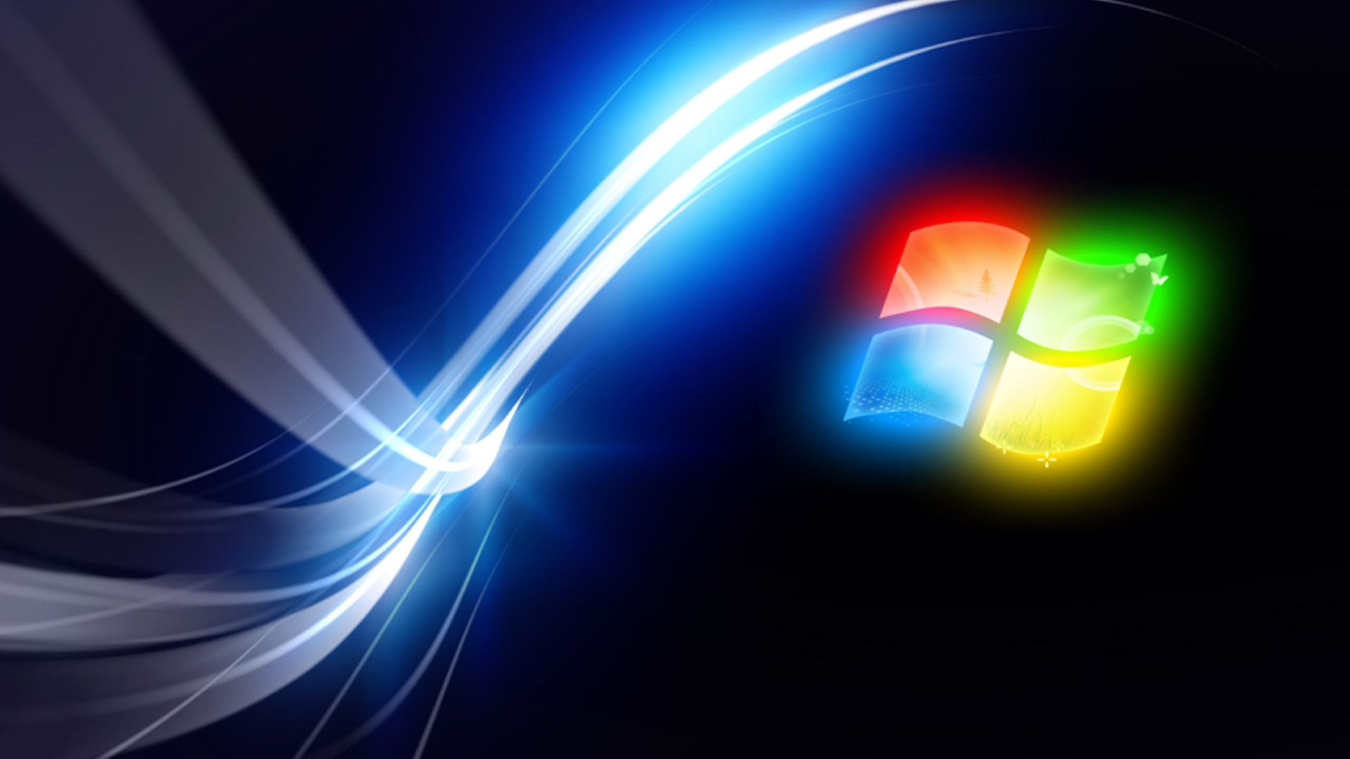 Windows Span background computer