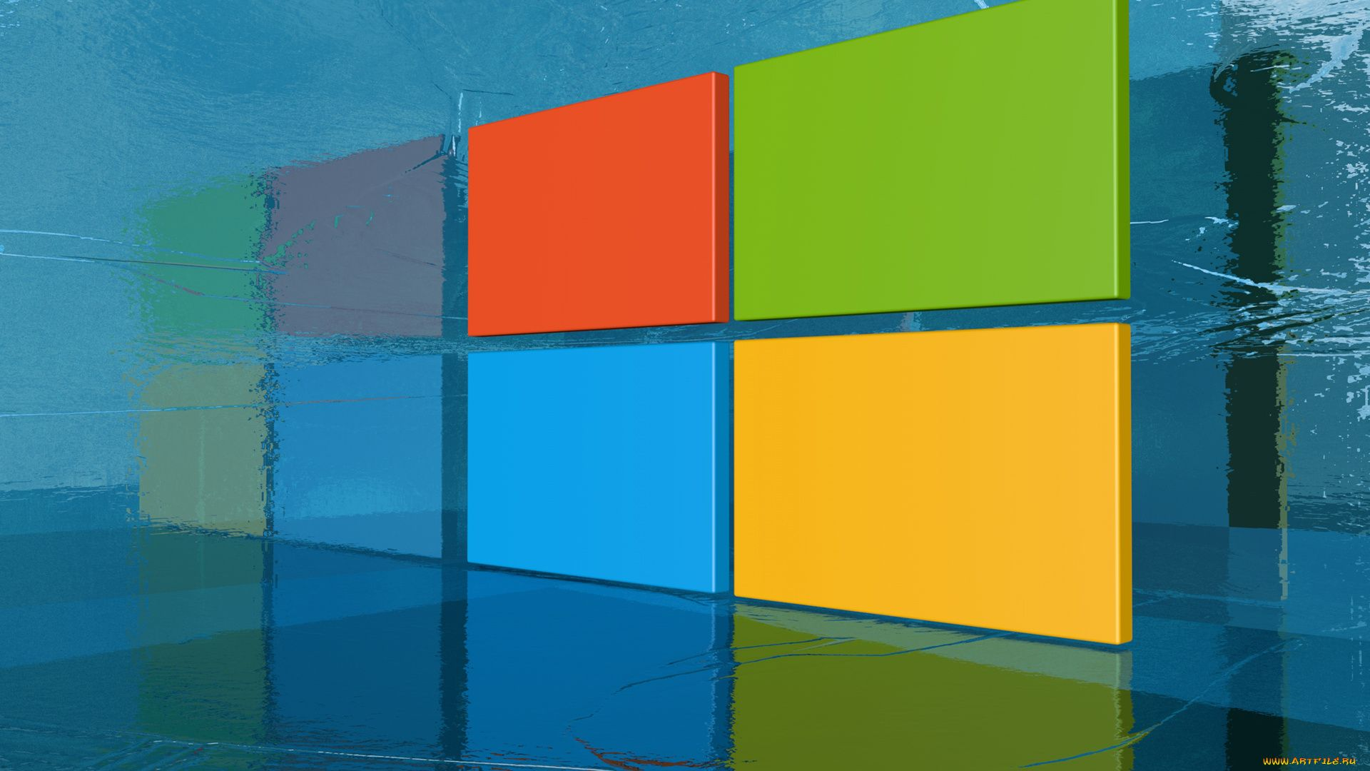 Windows Span picture image
