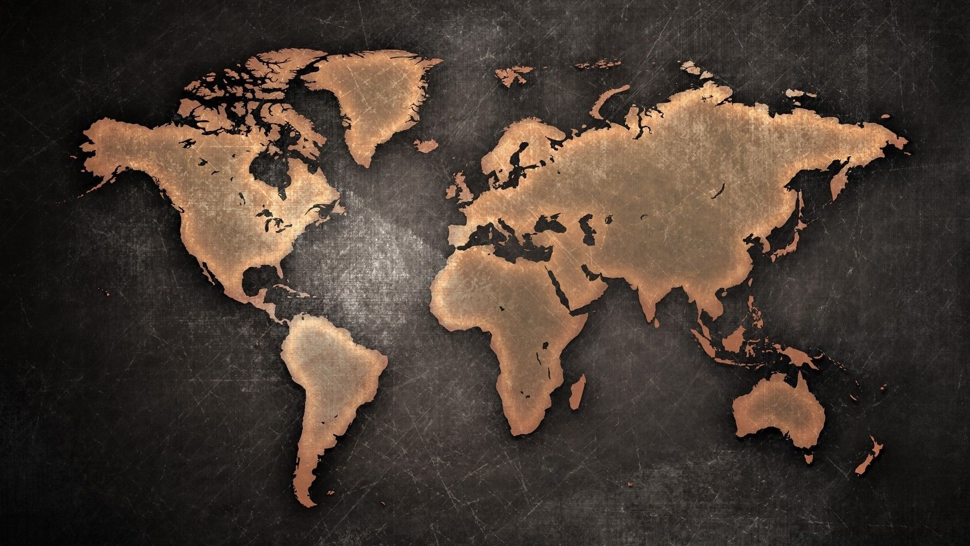 World Map desktop background free