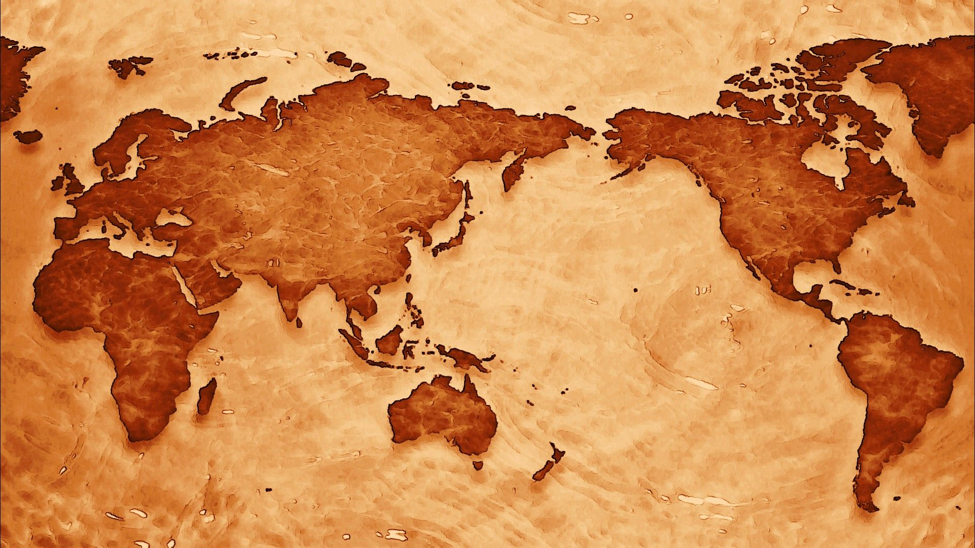 World Map hd desktop