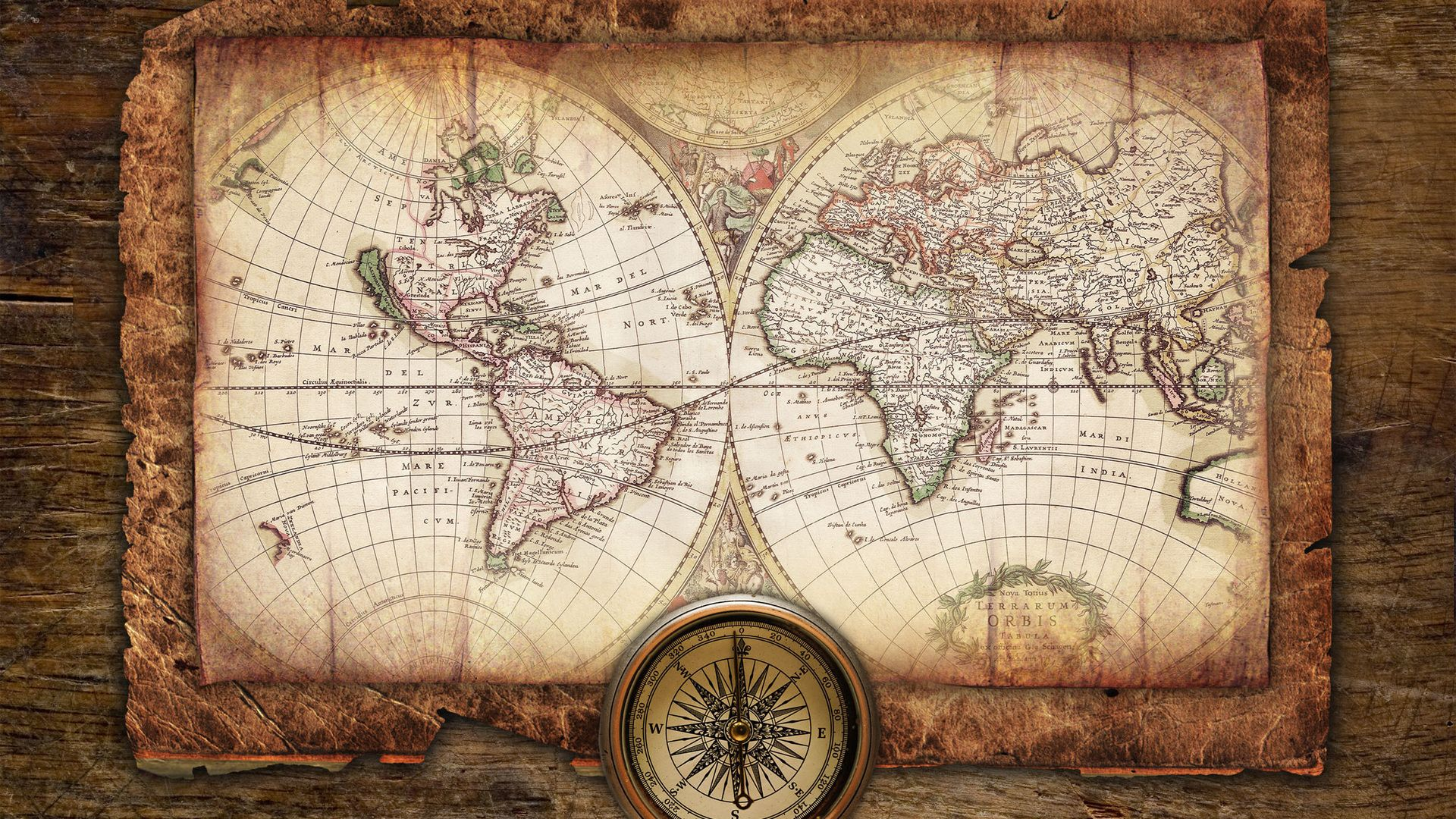 World Map wallpaper for pc