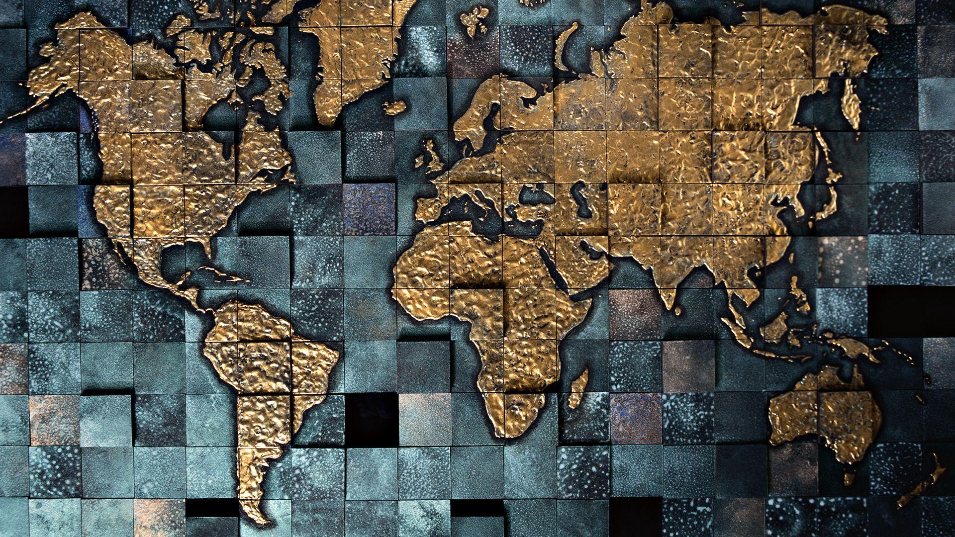 World Map free background