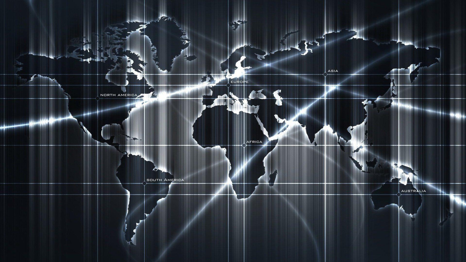 World Map nice wallpaper
