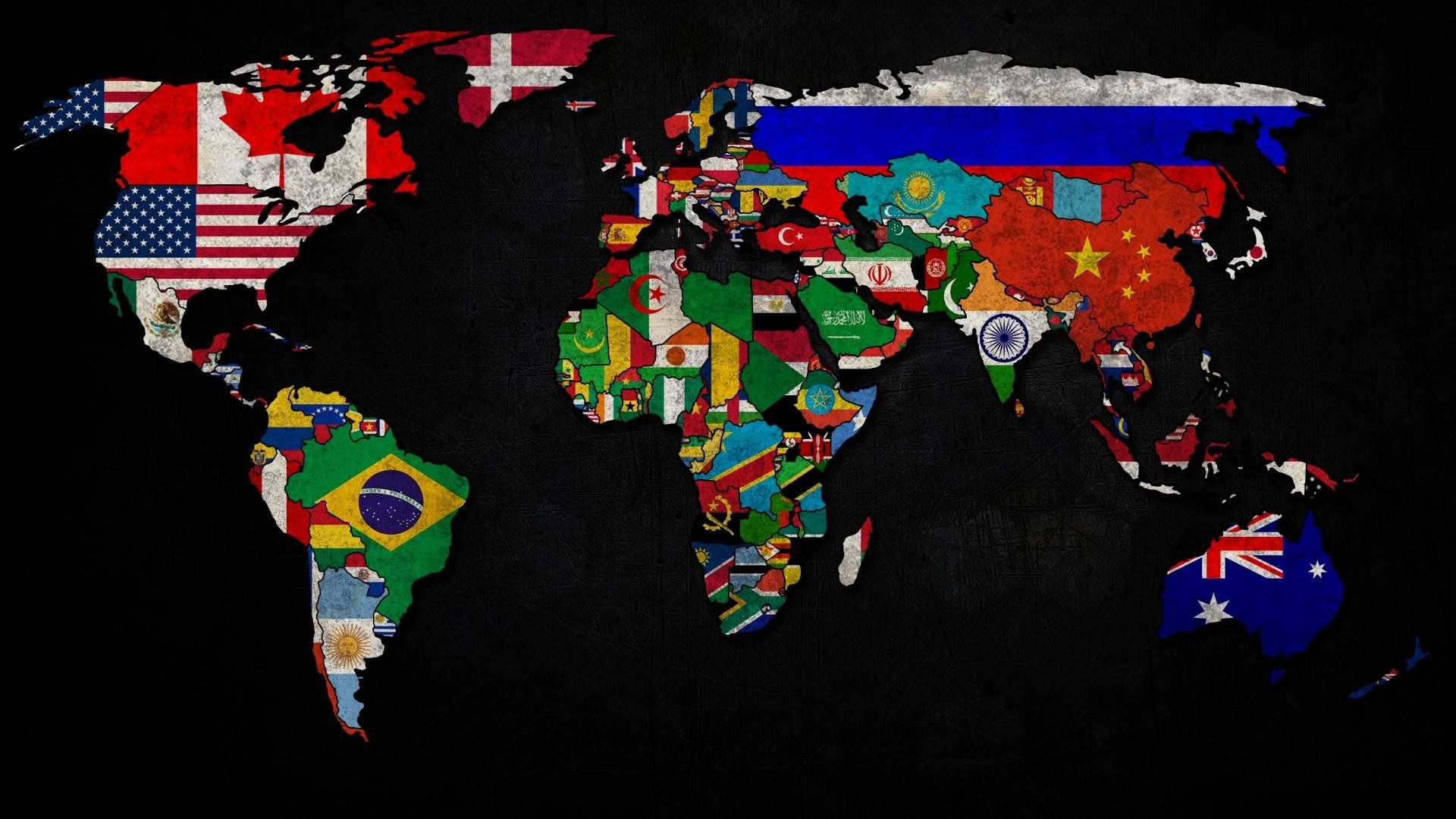 World Map laptop background wallpaper