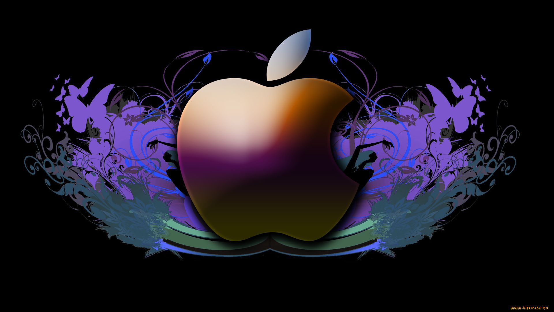 Apple Ipad laptop background wallpaper