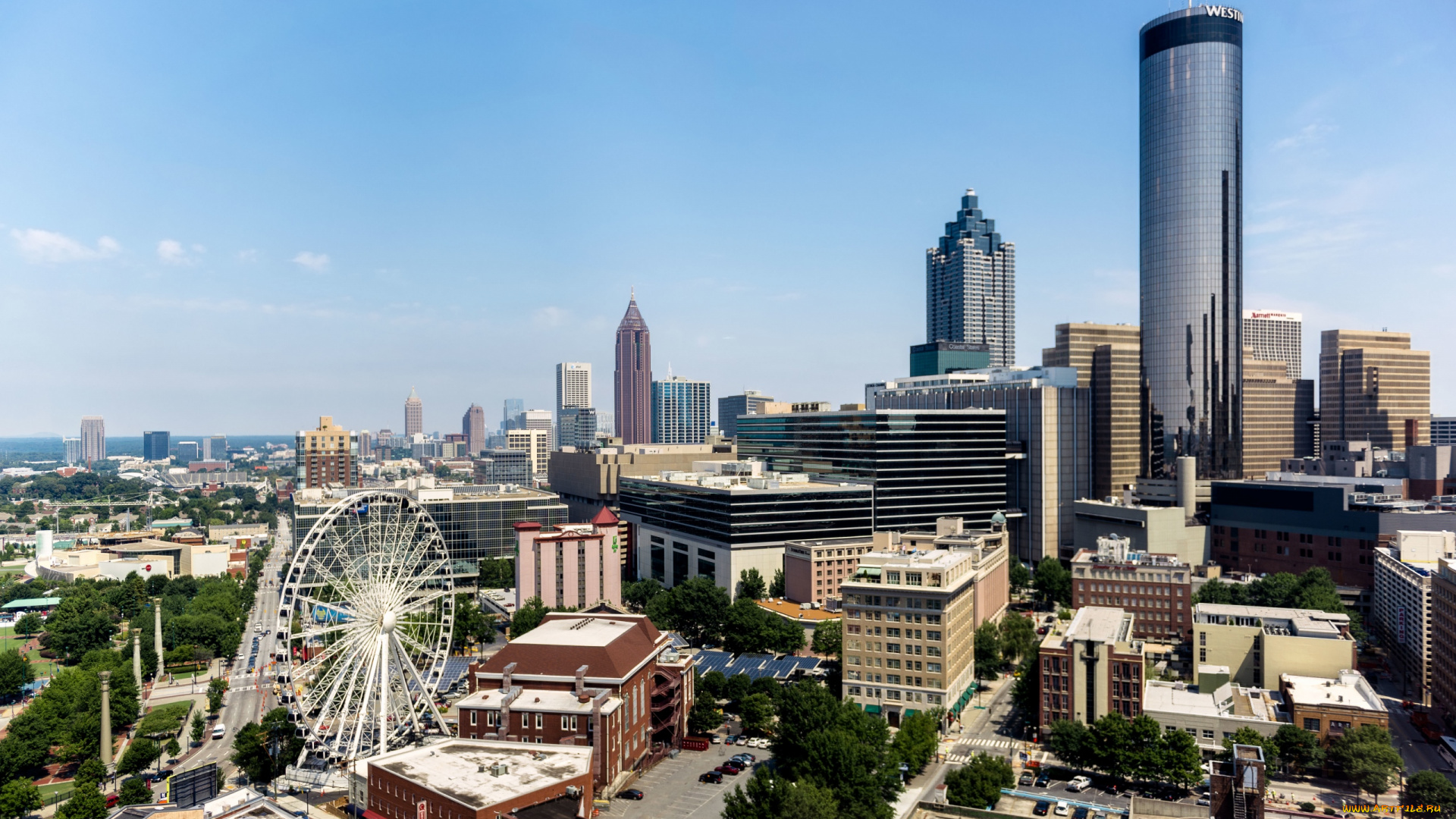 Atlanta background hd