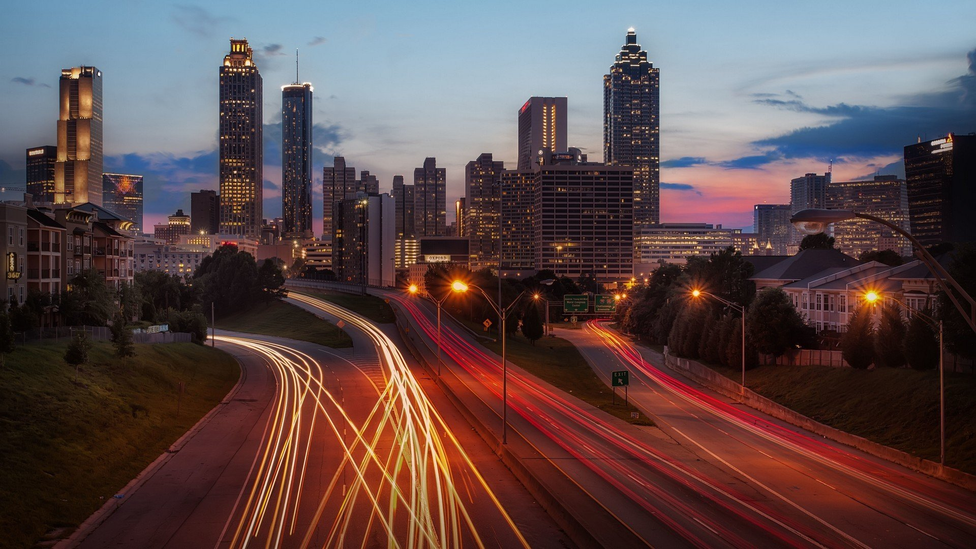 Atlanta desktop background free