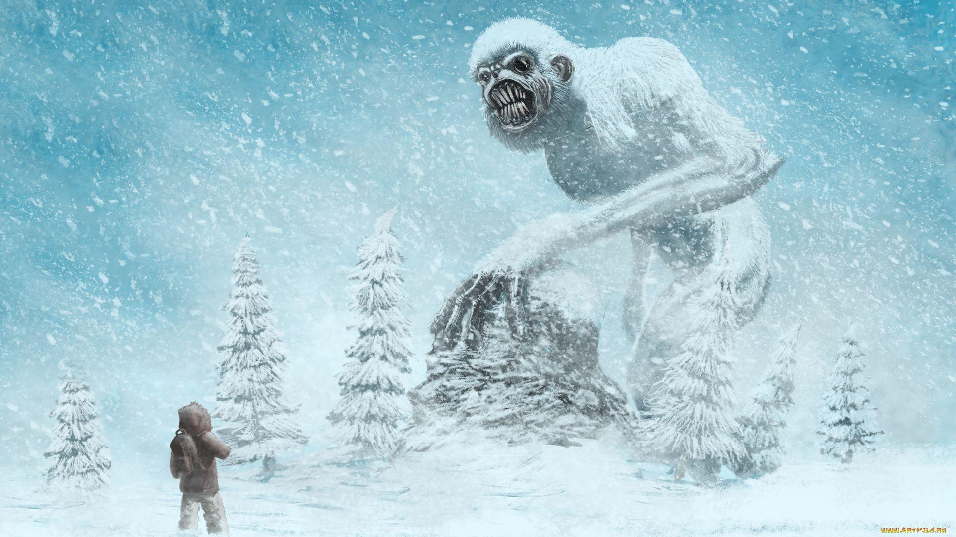 Bigfoot pc wallpaper
