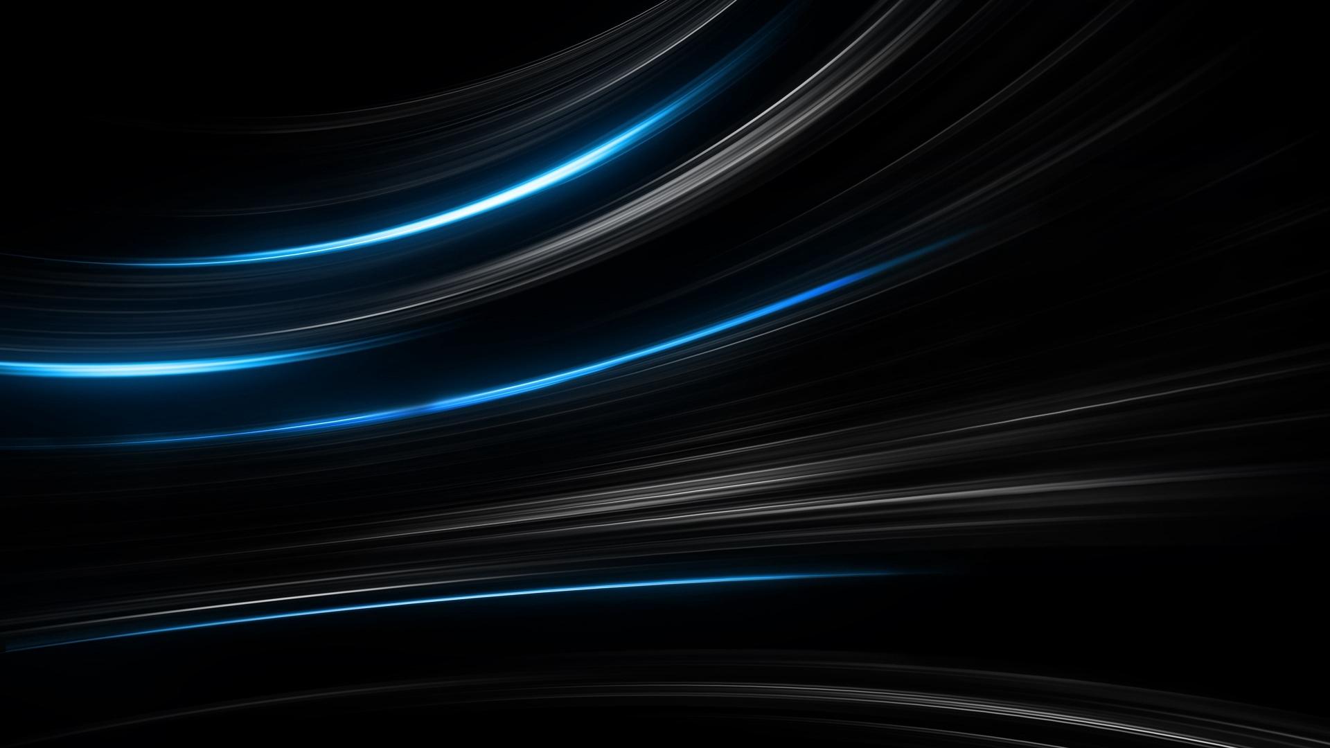 Black Abstract 1080p wallpaper