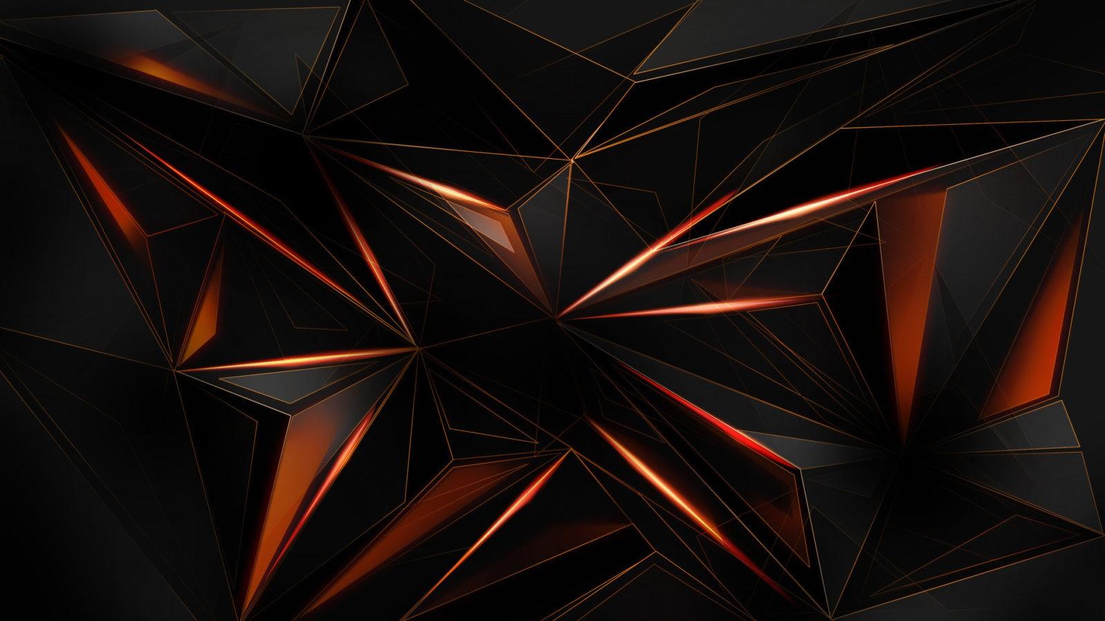 Black Abstract desktop background