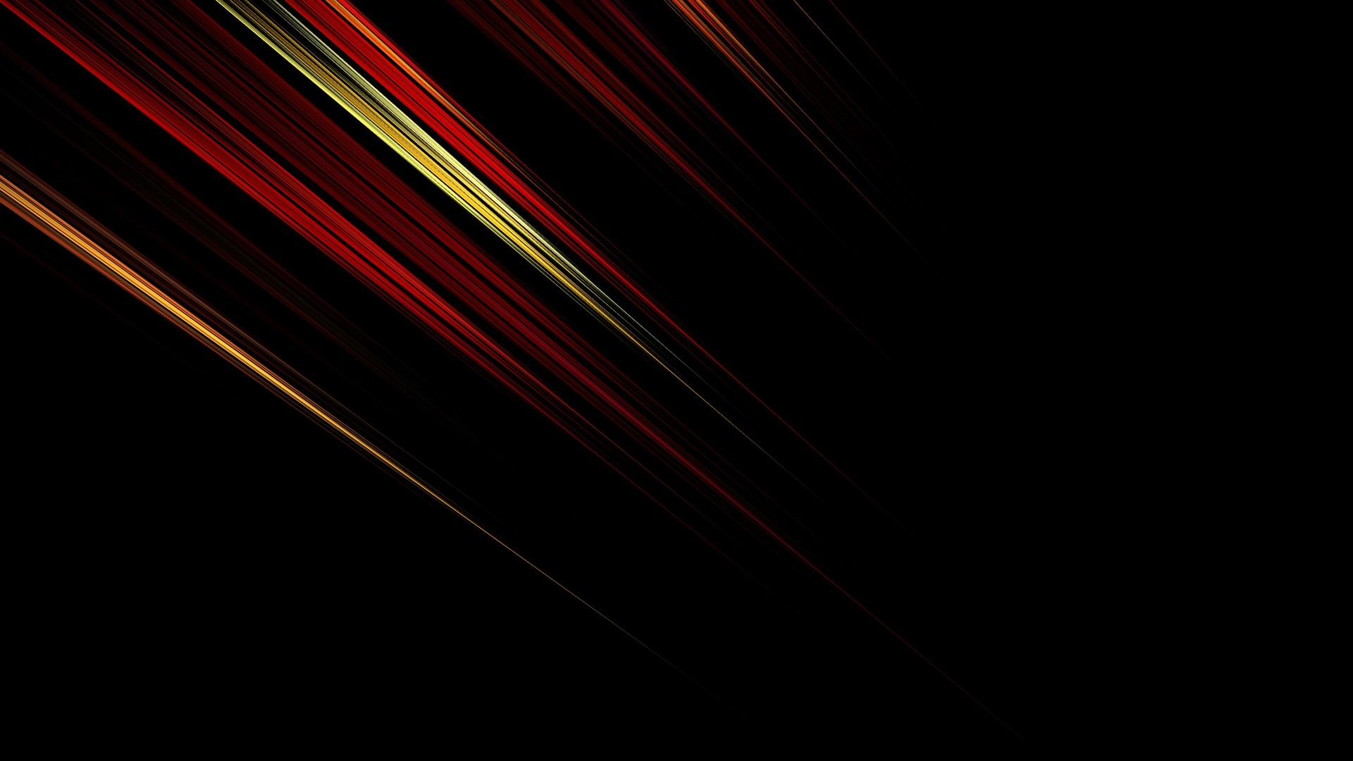 Black Abstract desktop image