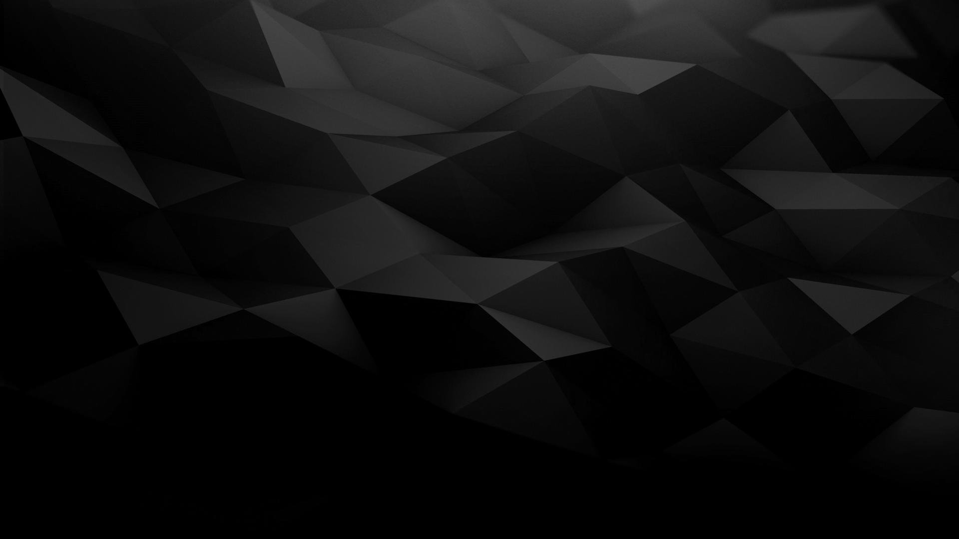 Black Abstract picture