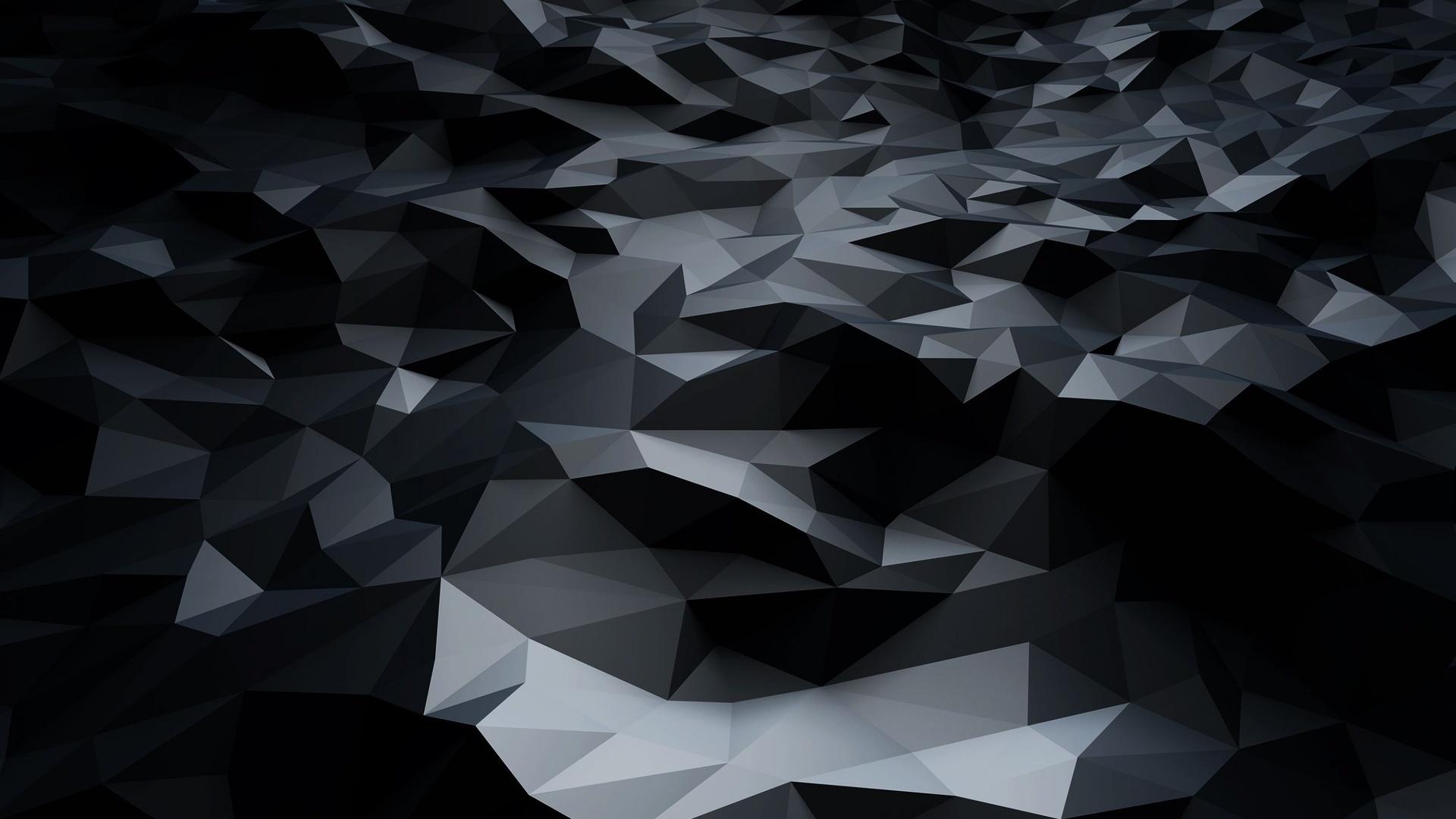 Black Abstract nice wallpaper