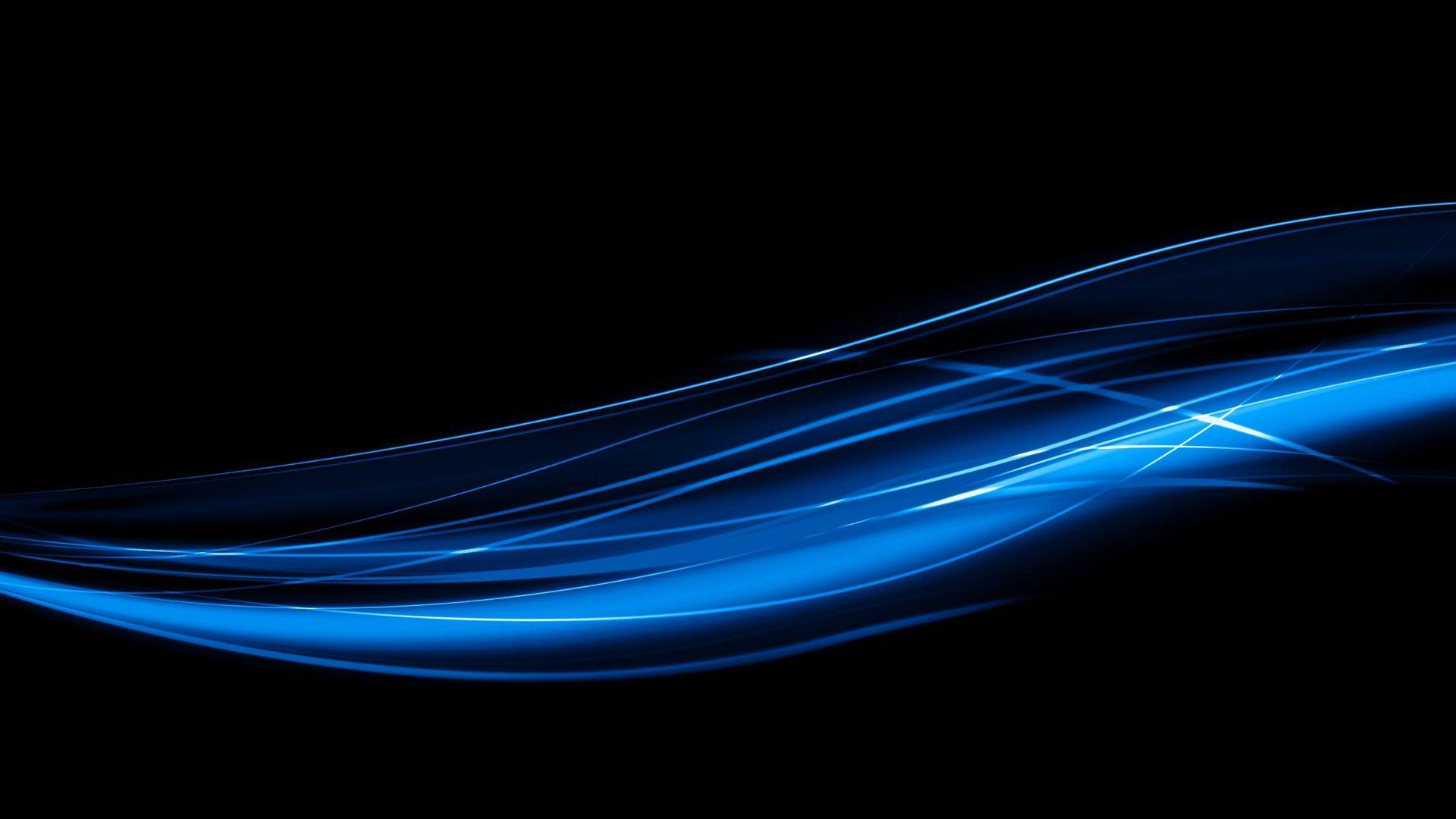 Blue Line free wallpaper for desktop