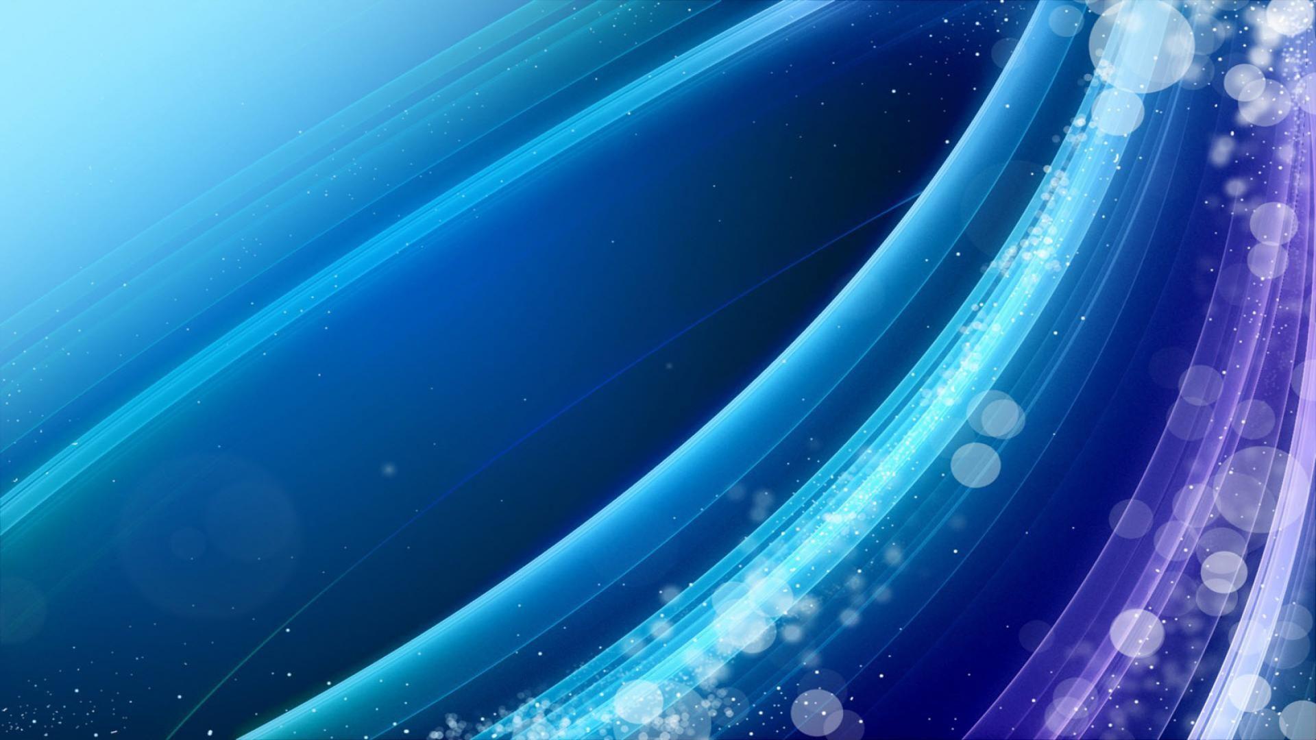 Blue Line desktop background