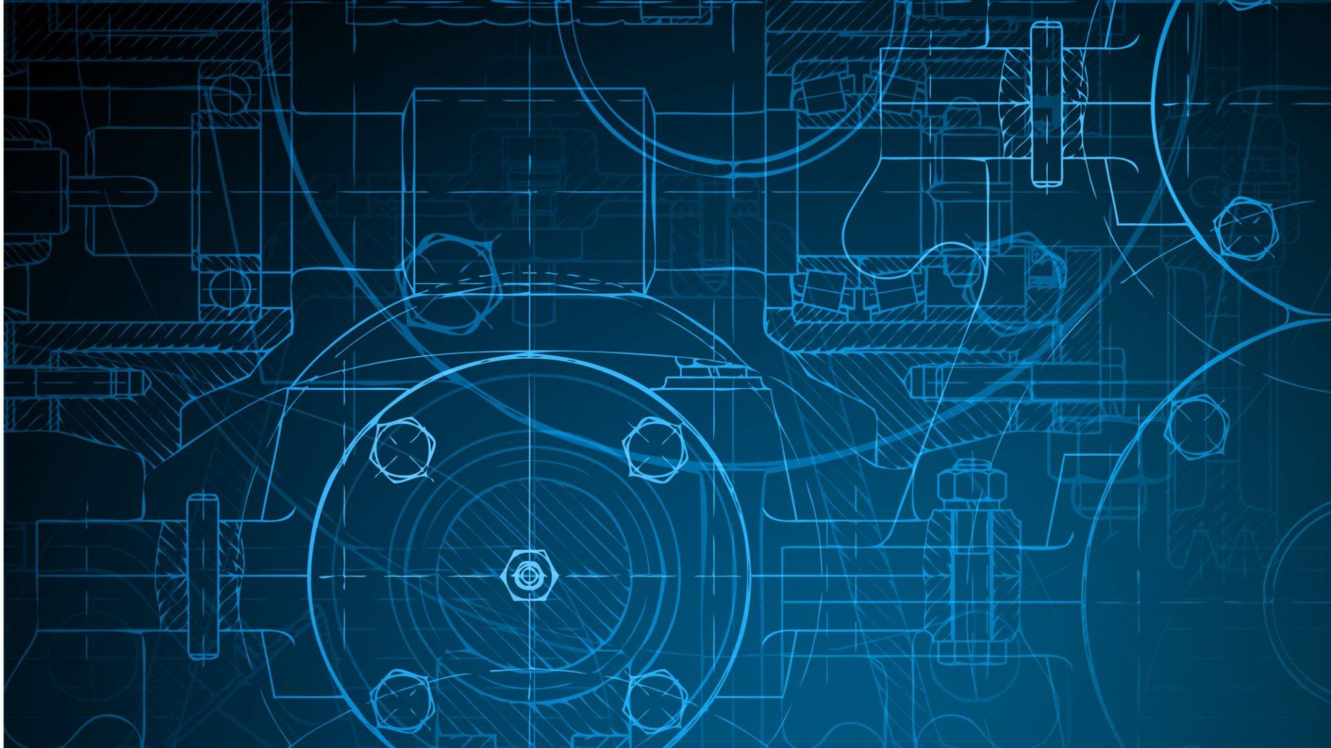 Blueprint Free Desktop Wallpaper