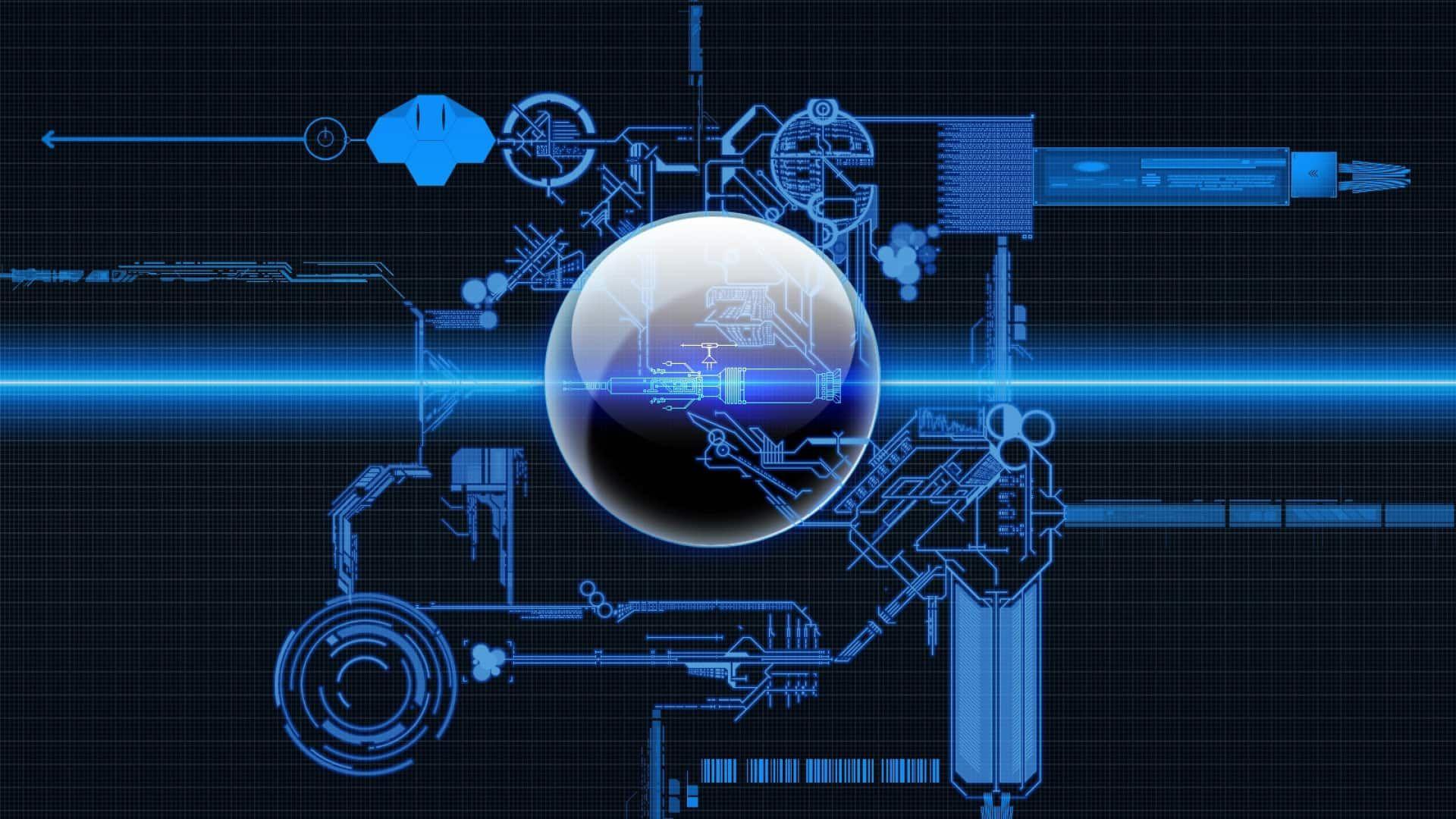 Blueprint wallpaper image