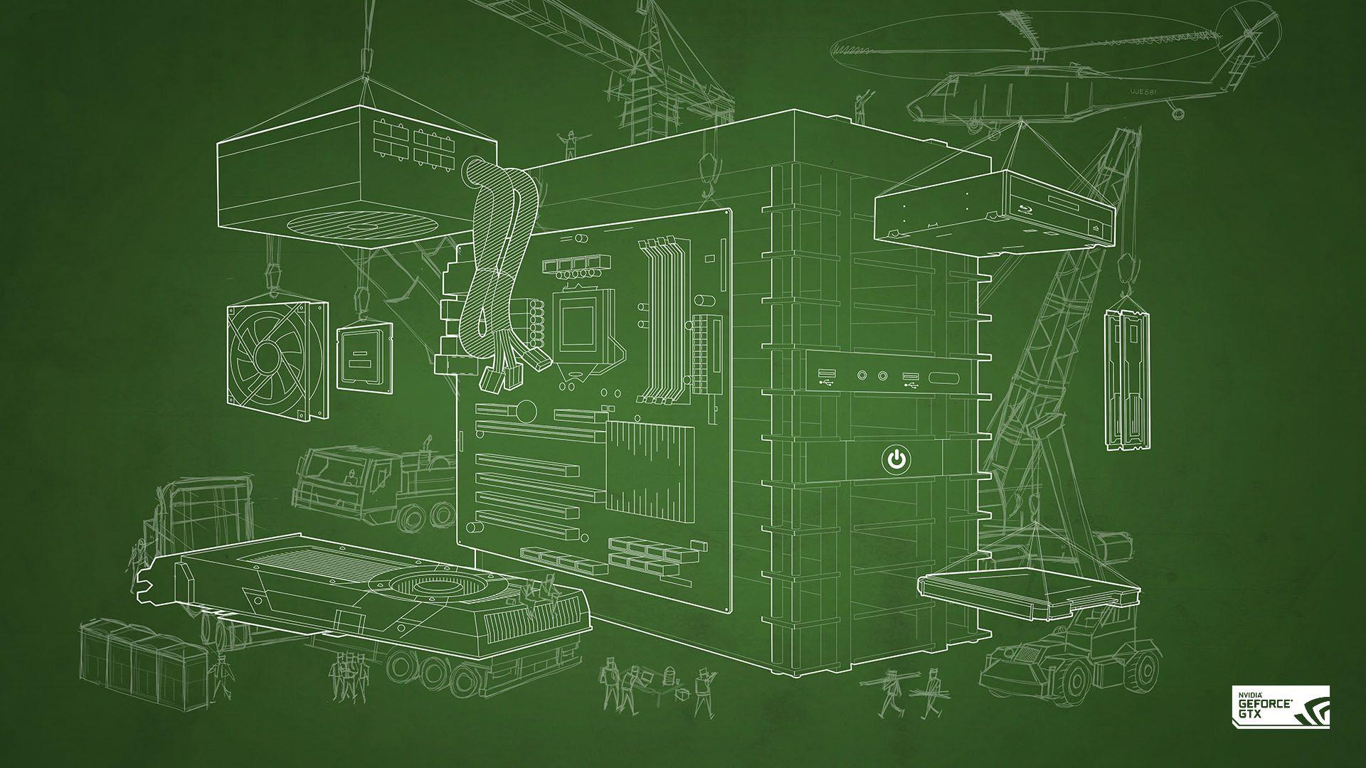 Blueprint PC Wallpaper HD