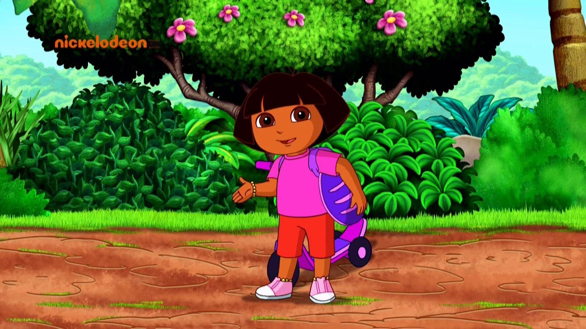 Dora free desktop background