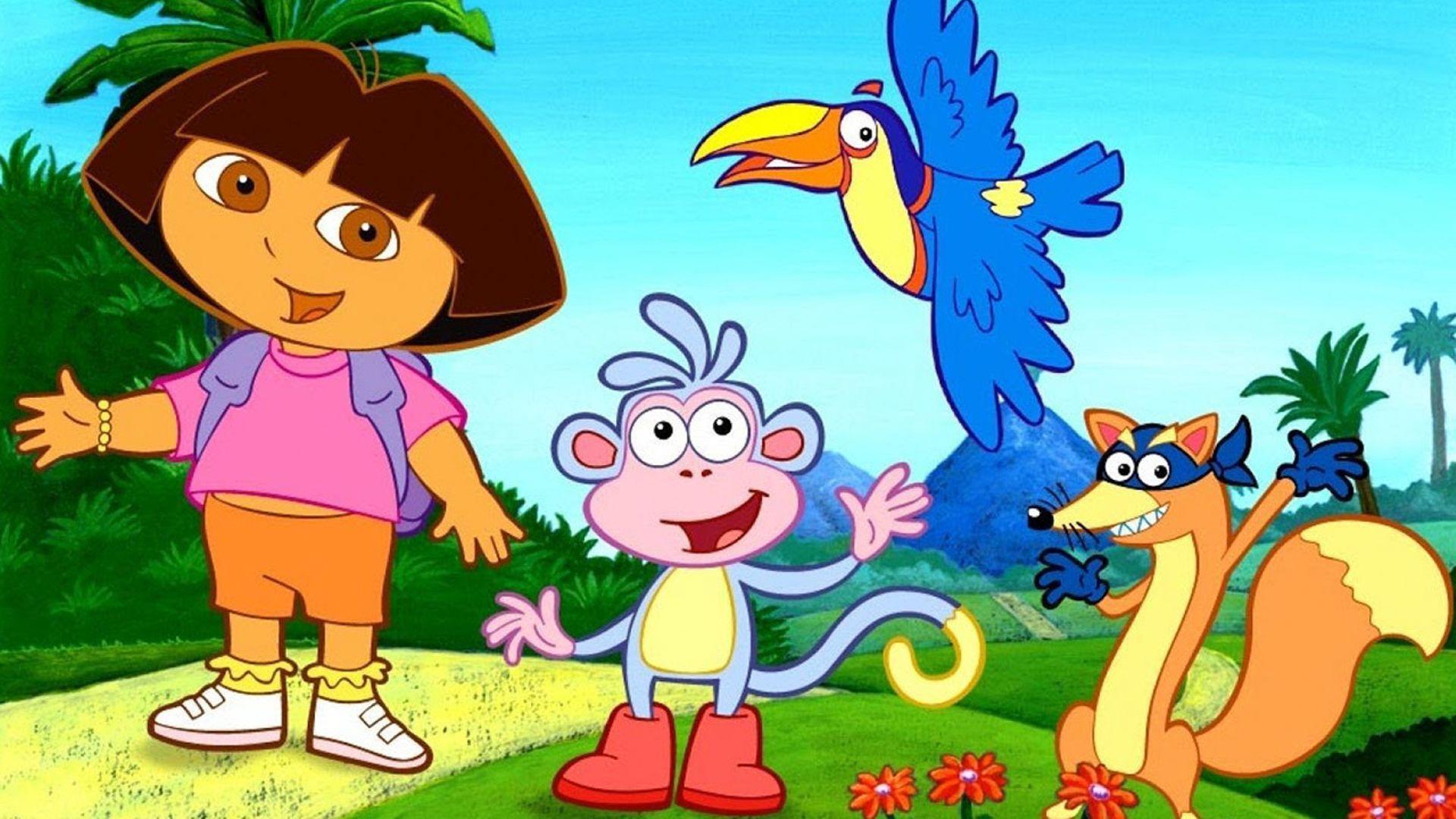 Dora computer background