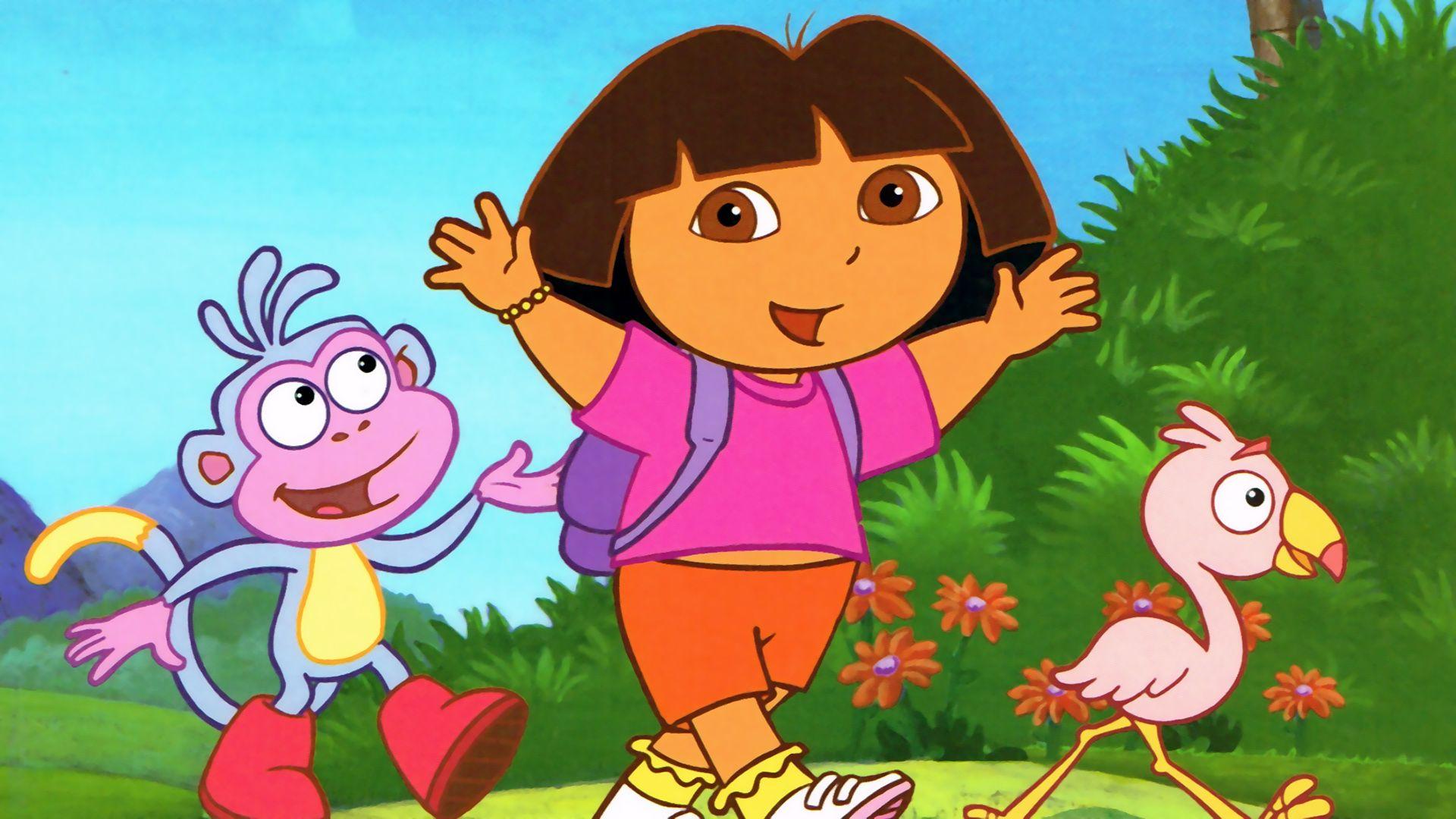 Dora laptop wallpaper