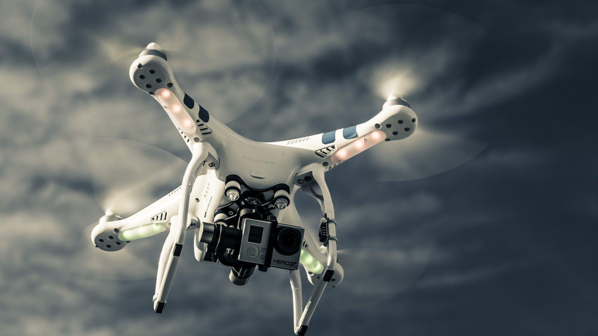Drone wallpaper theme