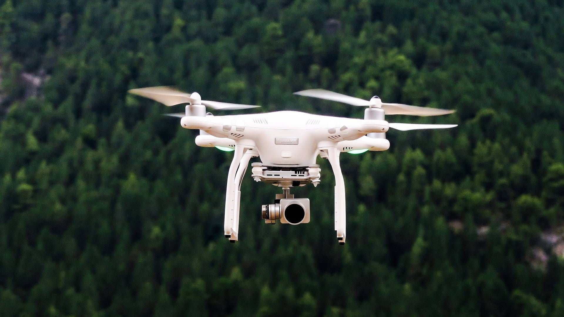 Drone desktop wallpaper