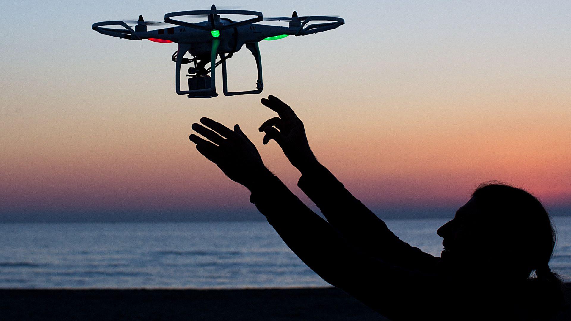 Drone a wallpaper