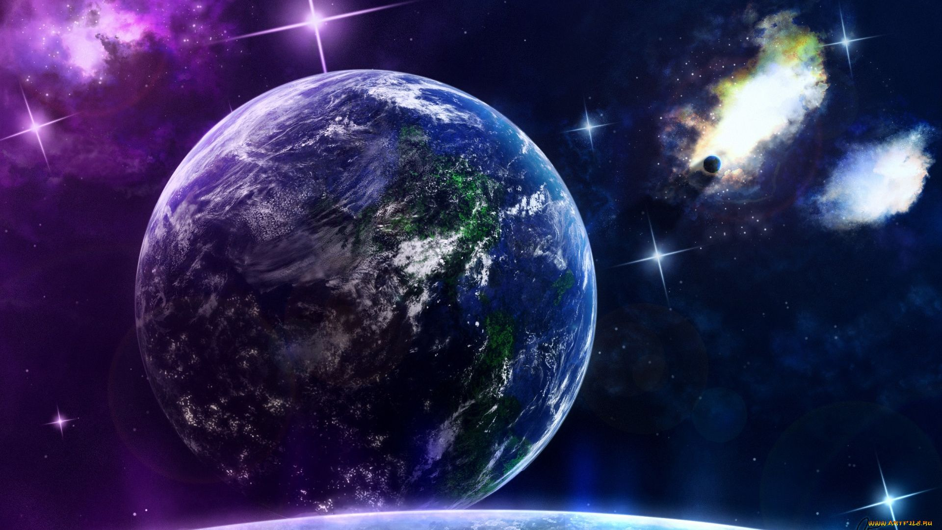 Earth wallpaper for pc