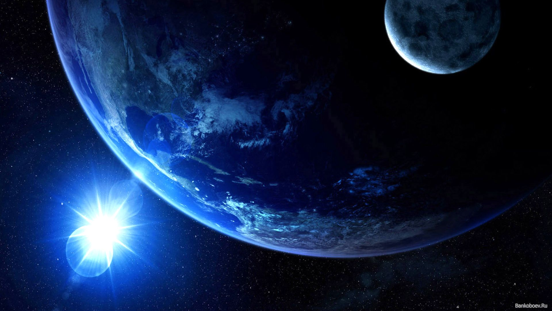Earth background image