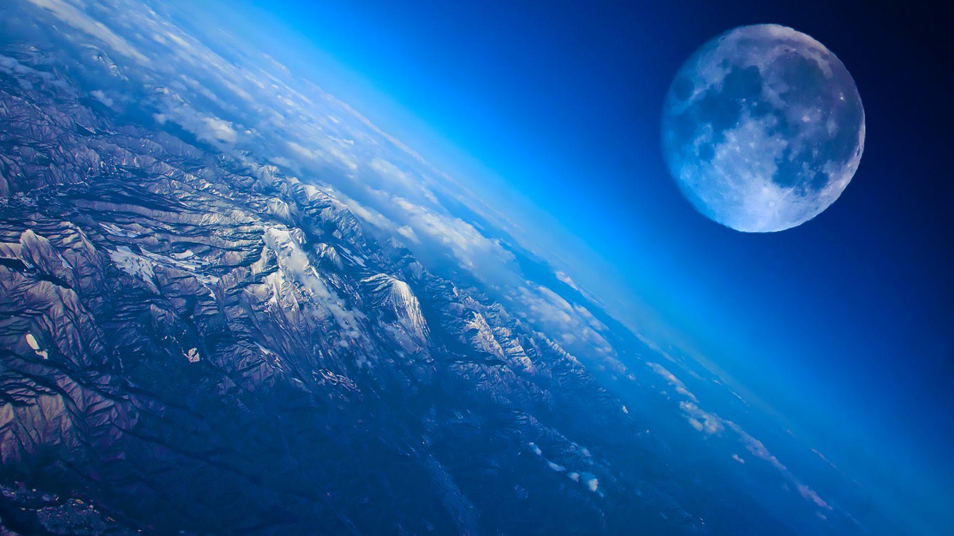 Earth desktop image