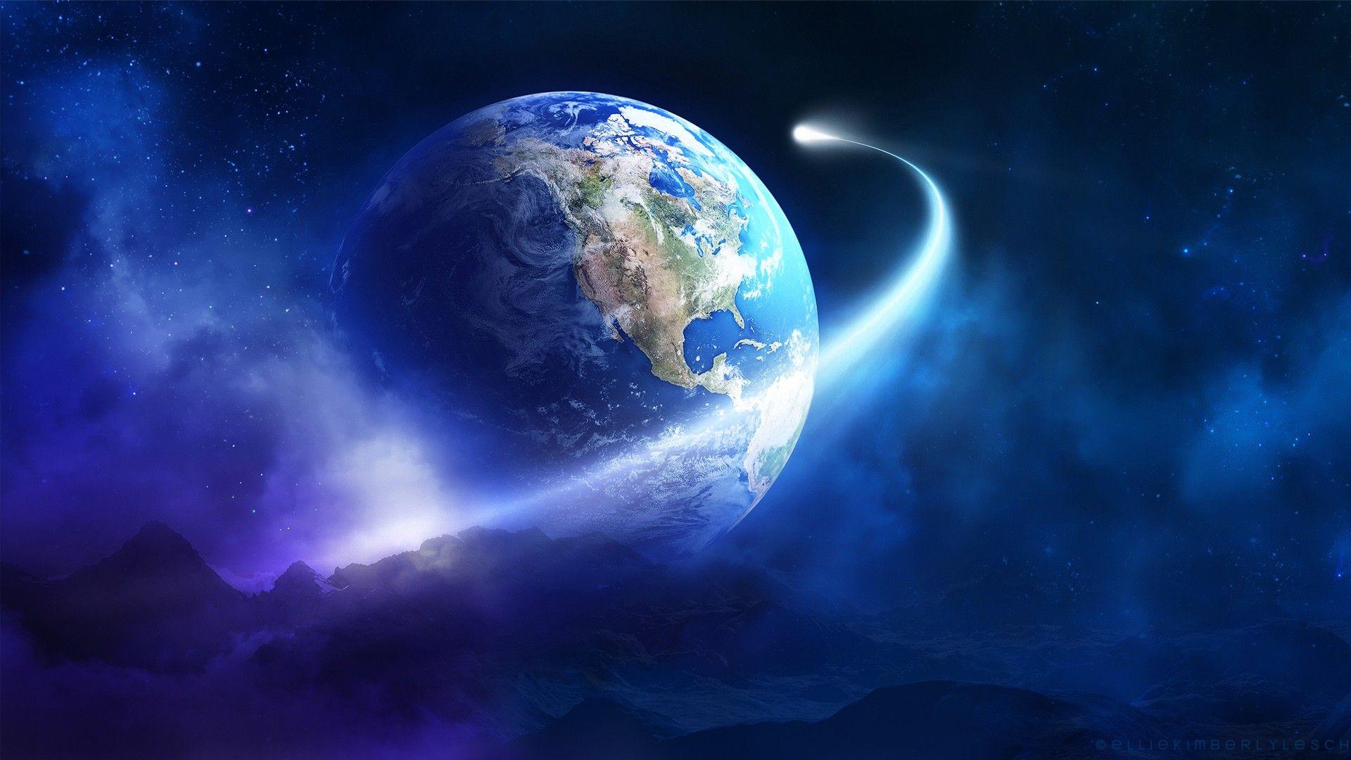 Earth desktop background