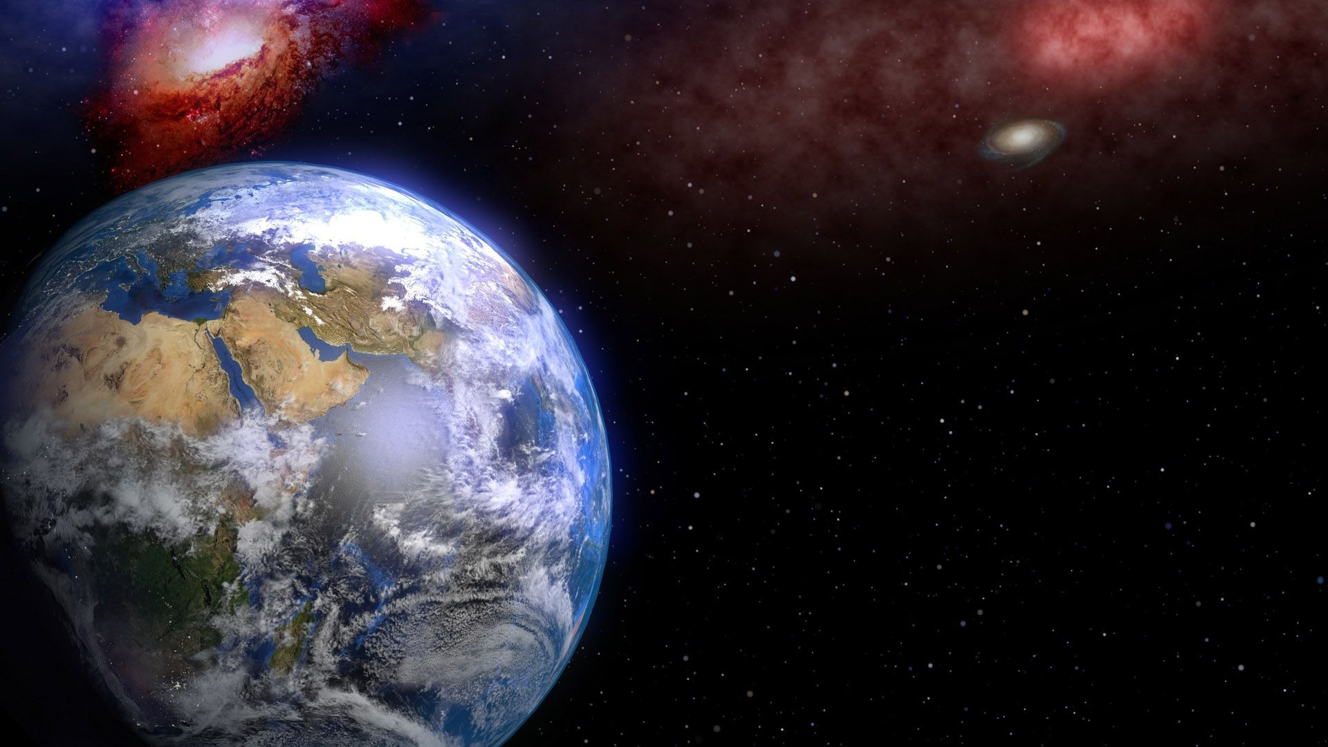 Earth good background