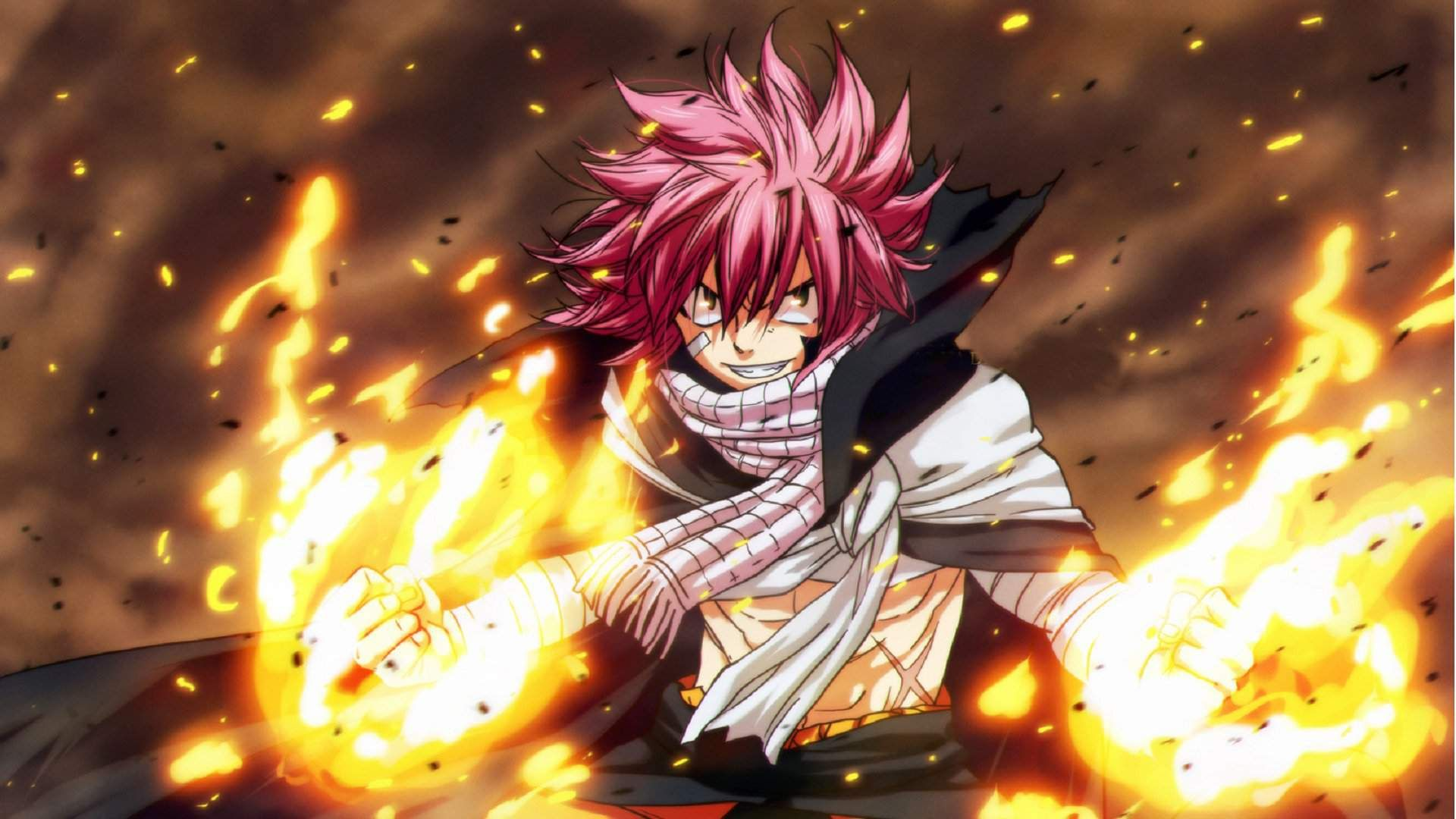 23 Fairy Tail Natsu Wallpapers Wallpaperboat