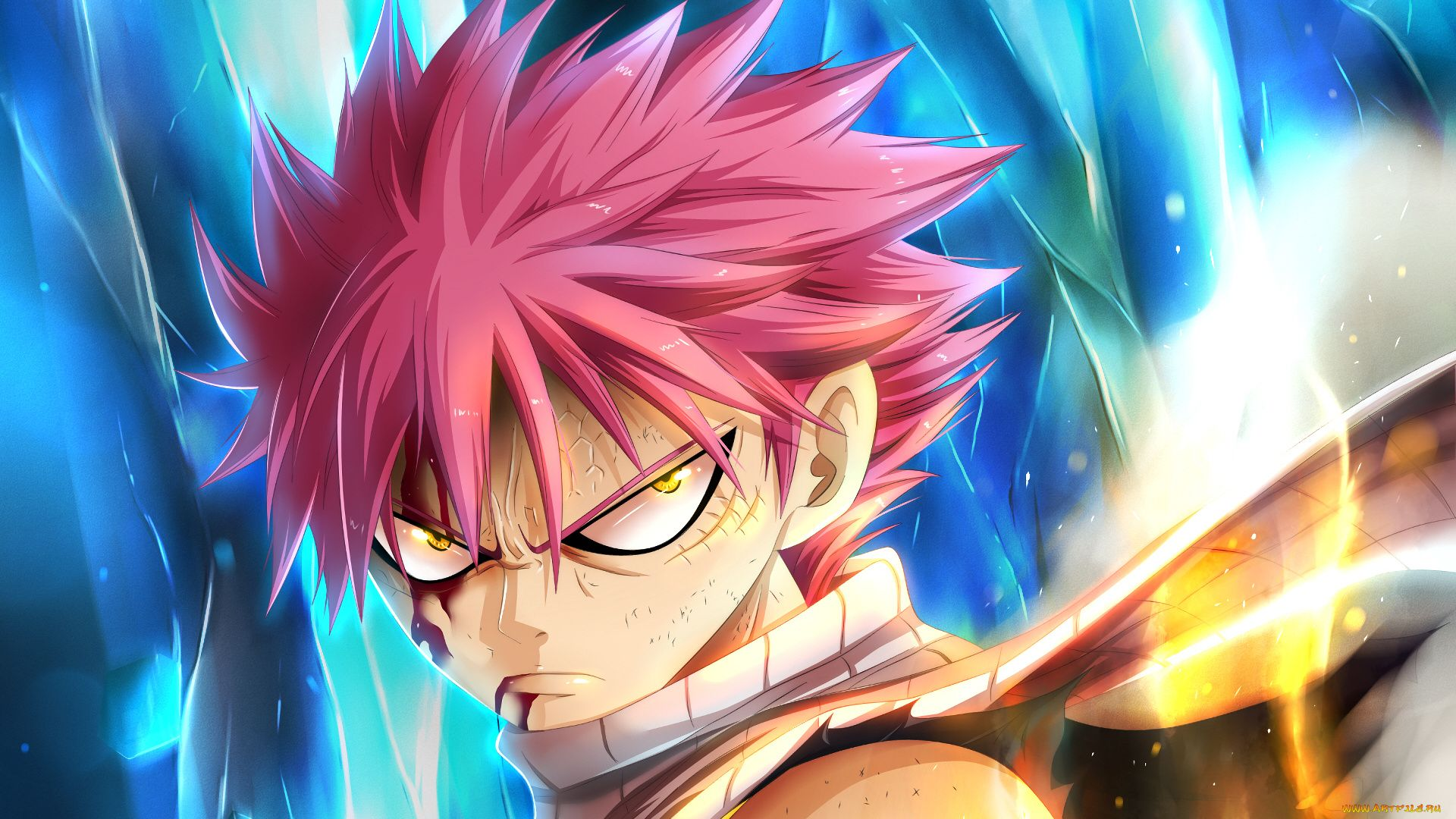 23 Fairy Tail Natsu Wallpapers - WallpaperBoat