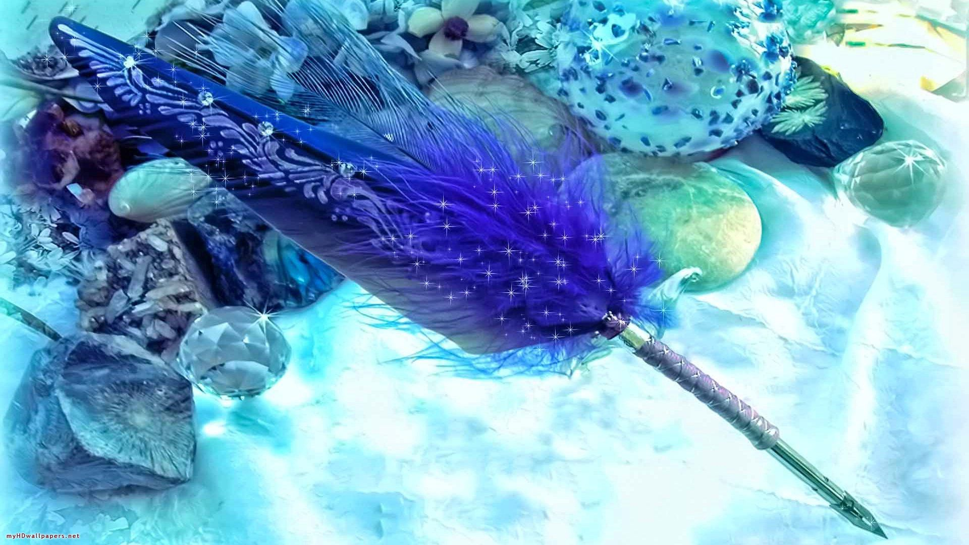 Feather Bloom hd image