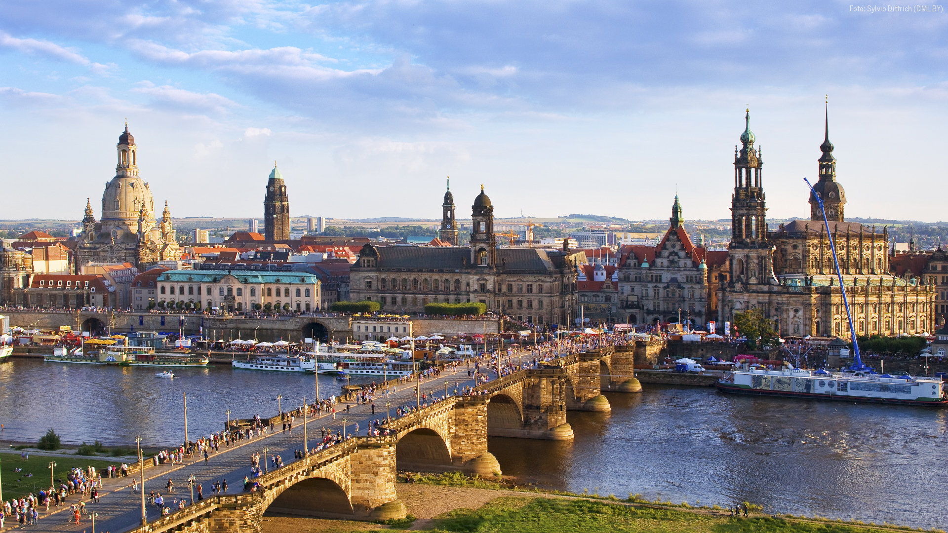 Dresden Silhouette Foto: Dmg/dittrichpicture hd