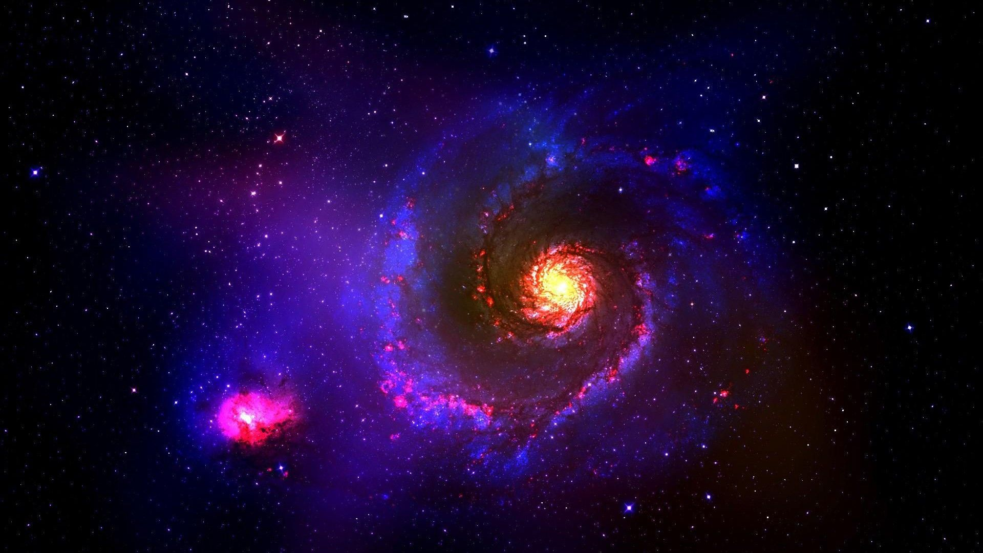 Glow Universe Nice Wallpaper