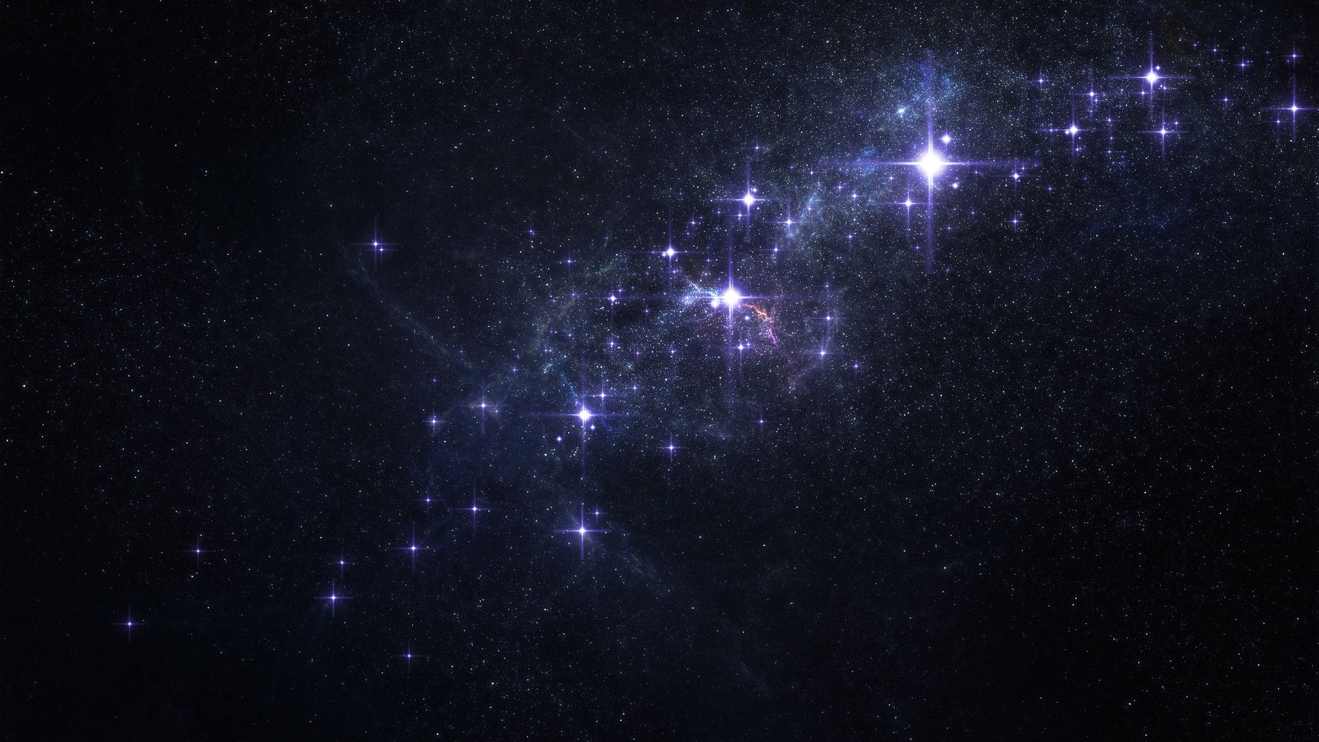 Glow Universe 1920x1080 wallpaper